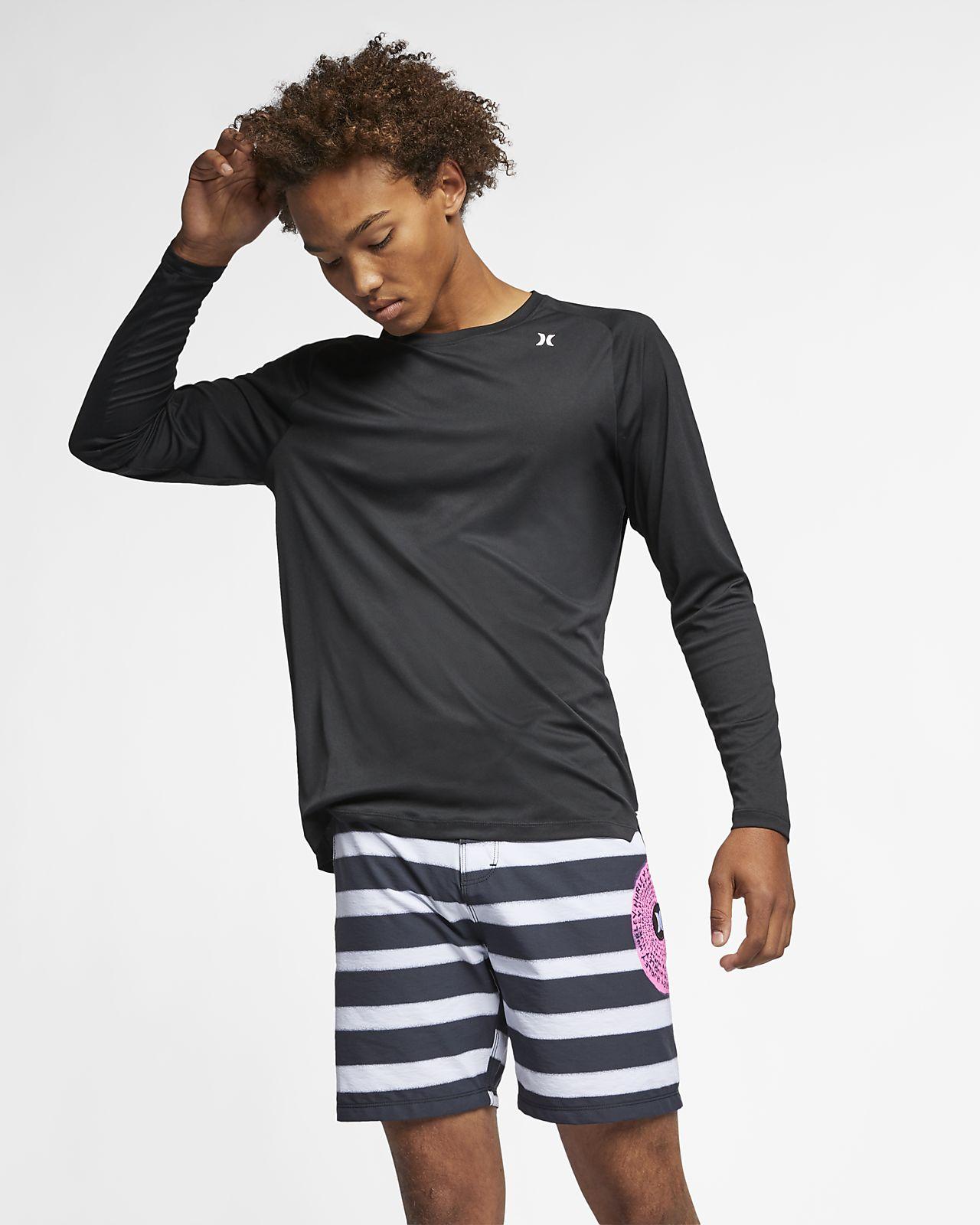 Pánské tričko s dlouhým rukávem Hurley Quick Dry