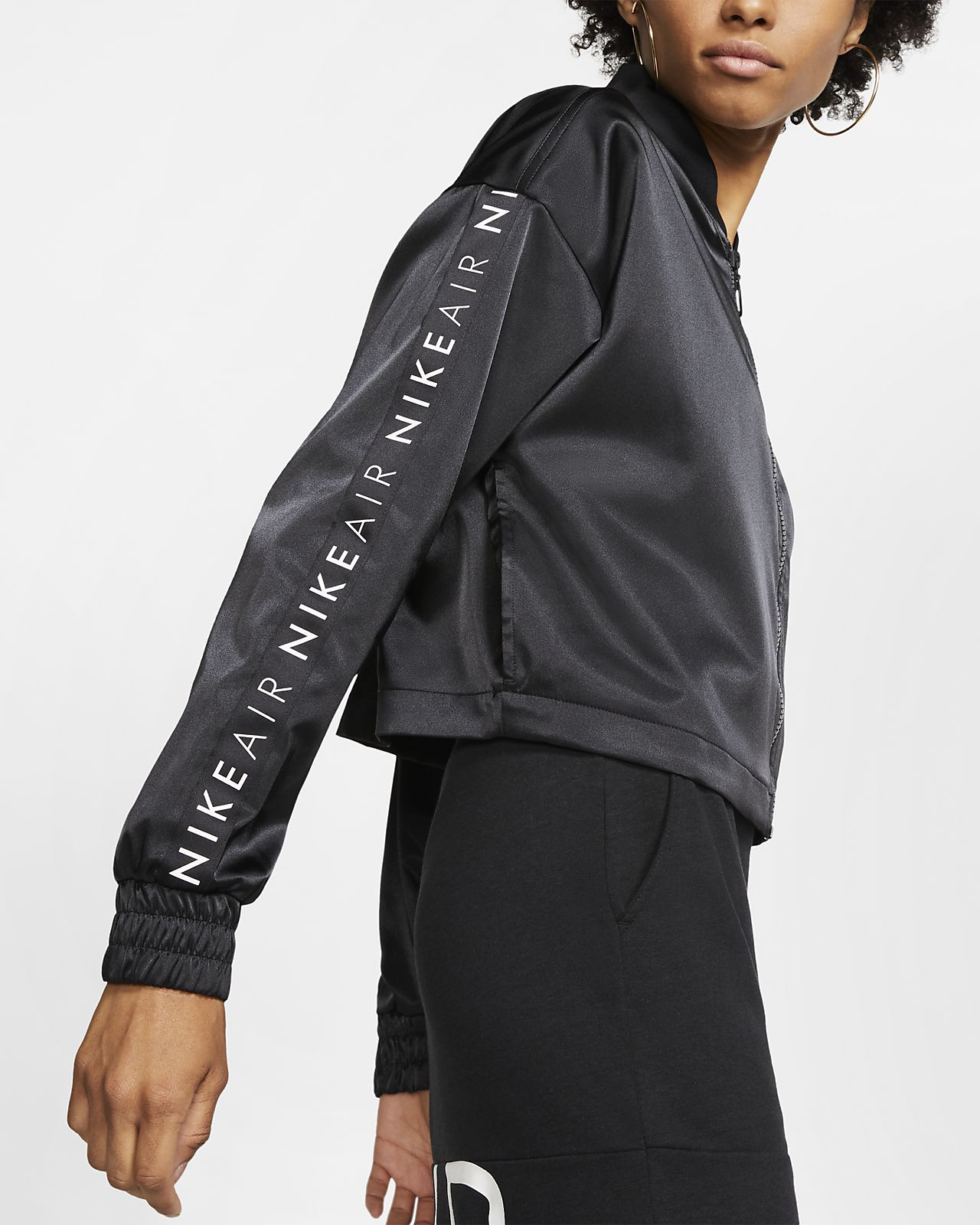 Nike Air Satin Trainingsjacke für Damen