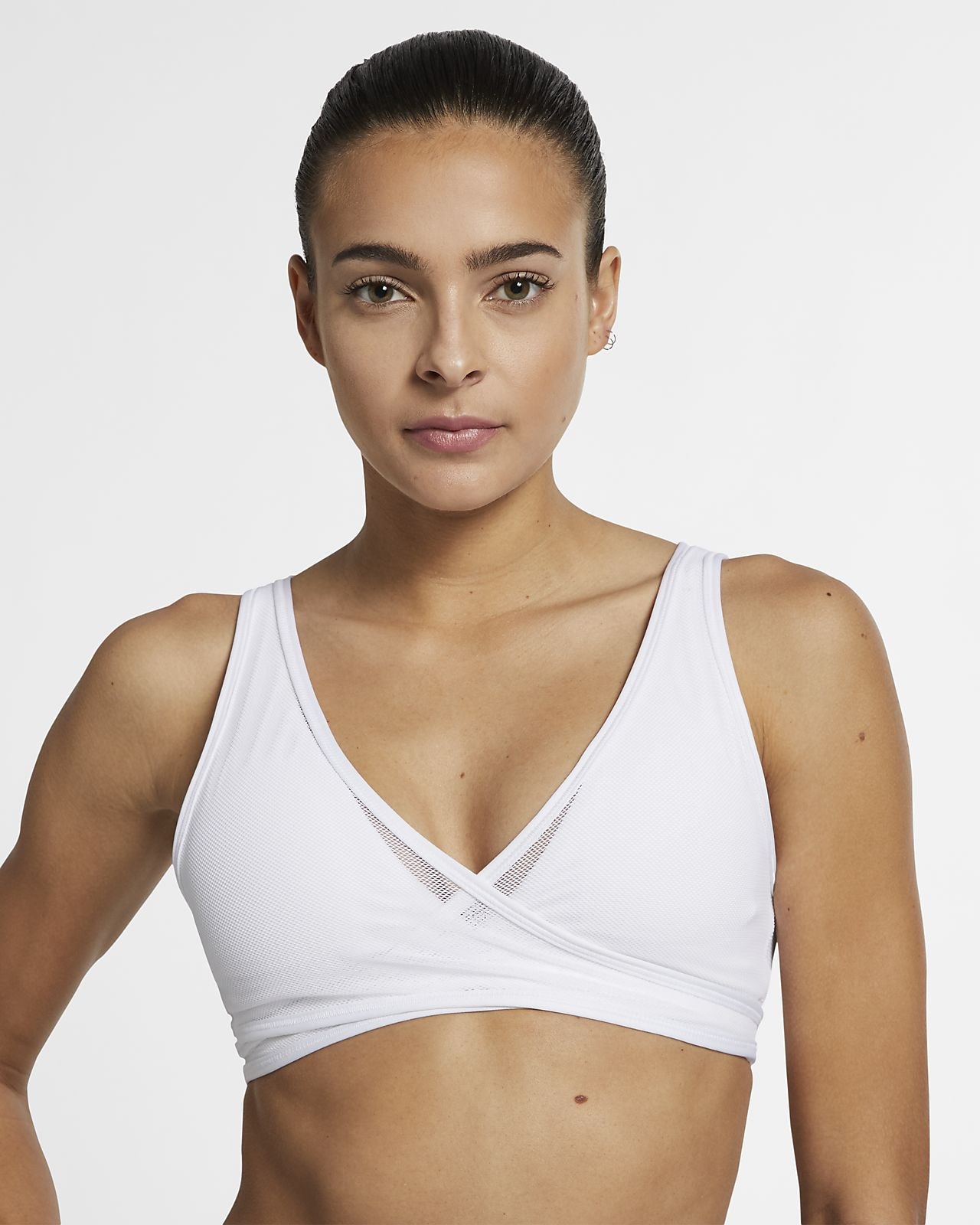 Nike Air enyhe tartást adó, hálós női sportmelltartó
