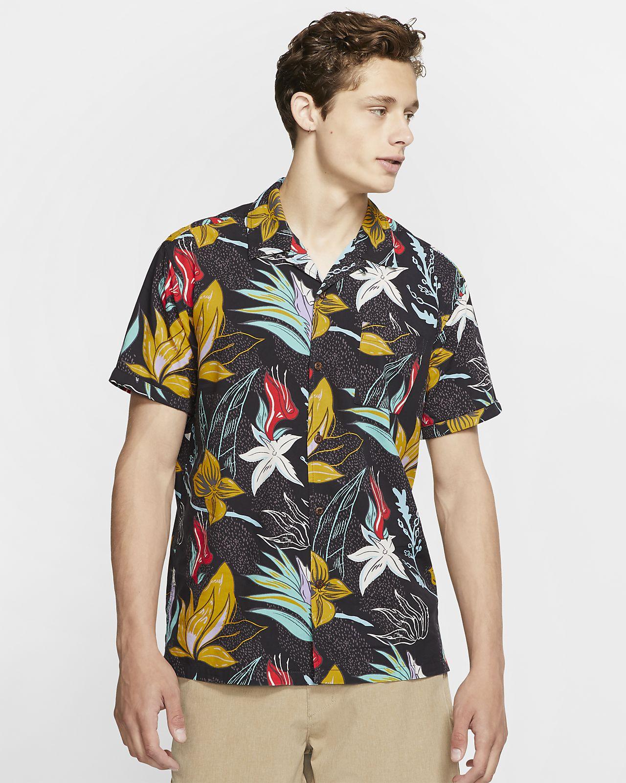 Hurley Domino Men's Short-Sleeve Top