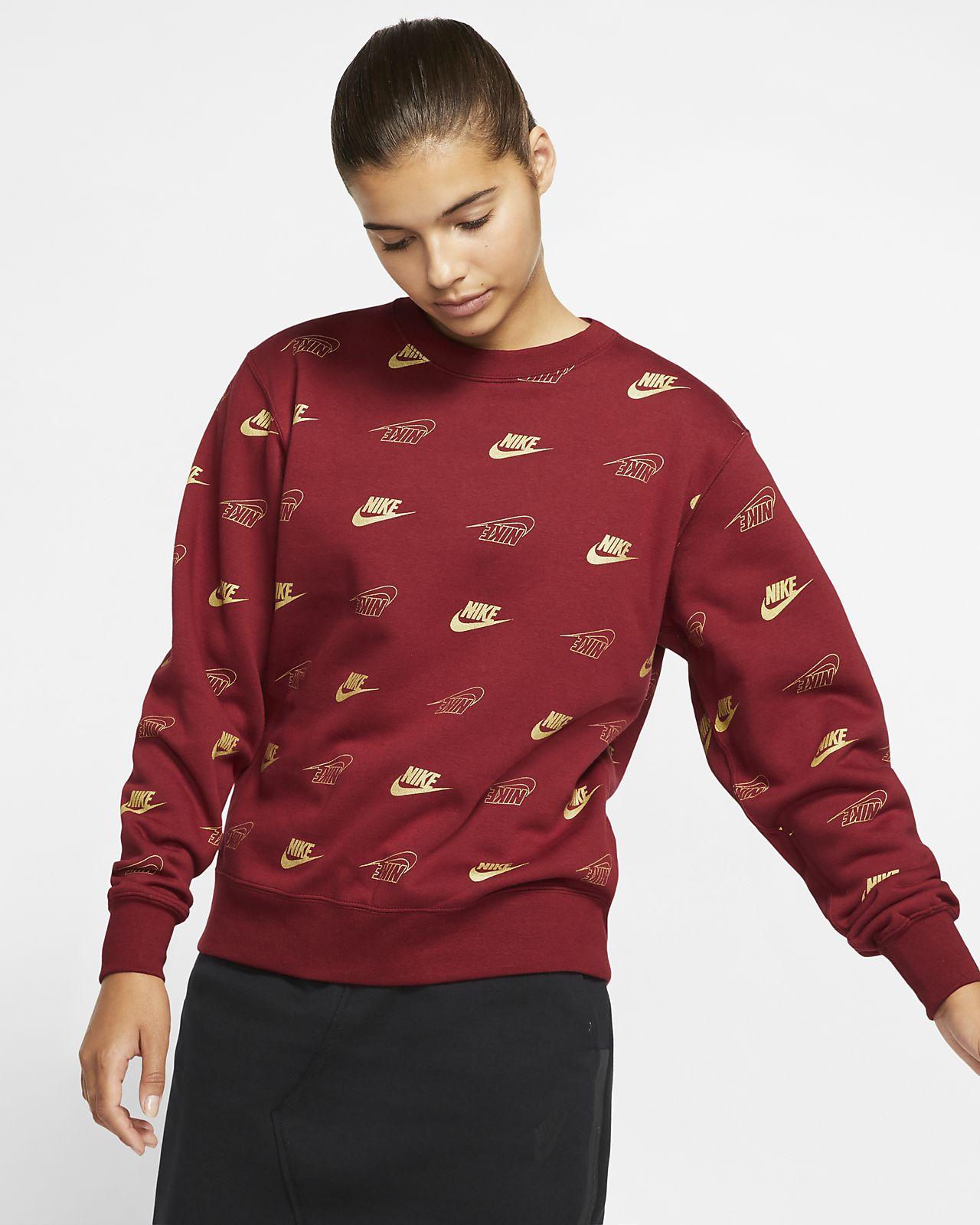 Tröja Nike Sportswear med rundad hals för kvinnor
