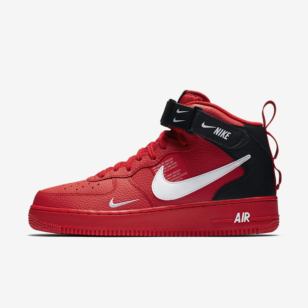 sports shoes d745b 0f9ae denmark scarpa nike air force 1 07 mid lv8 uomo 9eb70 f62cf