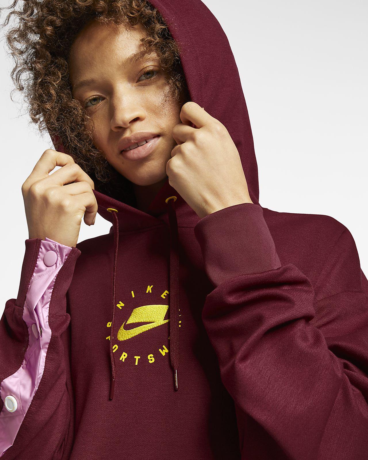 090c4585ff30e Nike Sportswear NSW Kapüşonlu Kadın Elbisesi. Nike.com TR