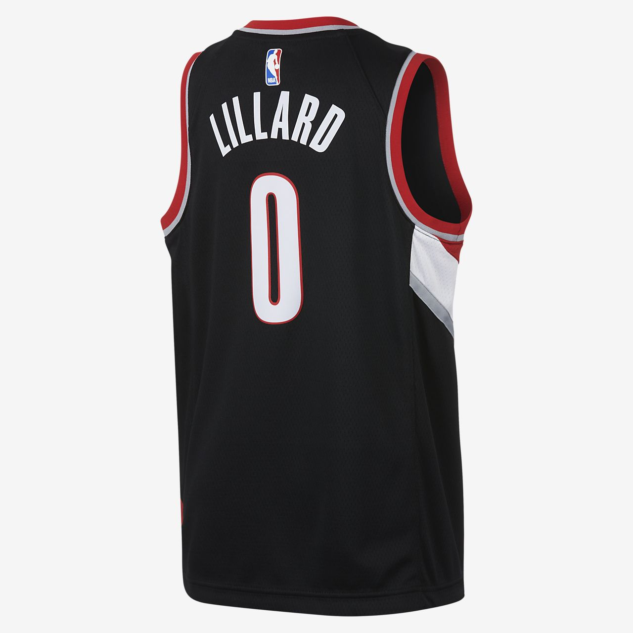 low priced 955d3 7fda6 Damian Lillard Portland Trail Blazers Nike Icon Edition Swingman Big Kids'  NBA Jersey