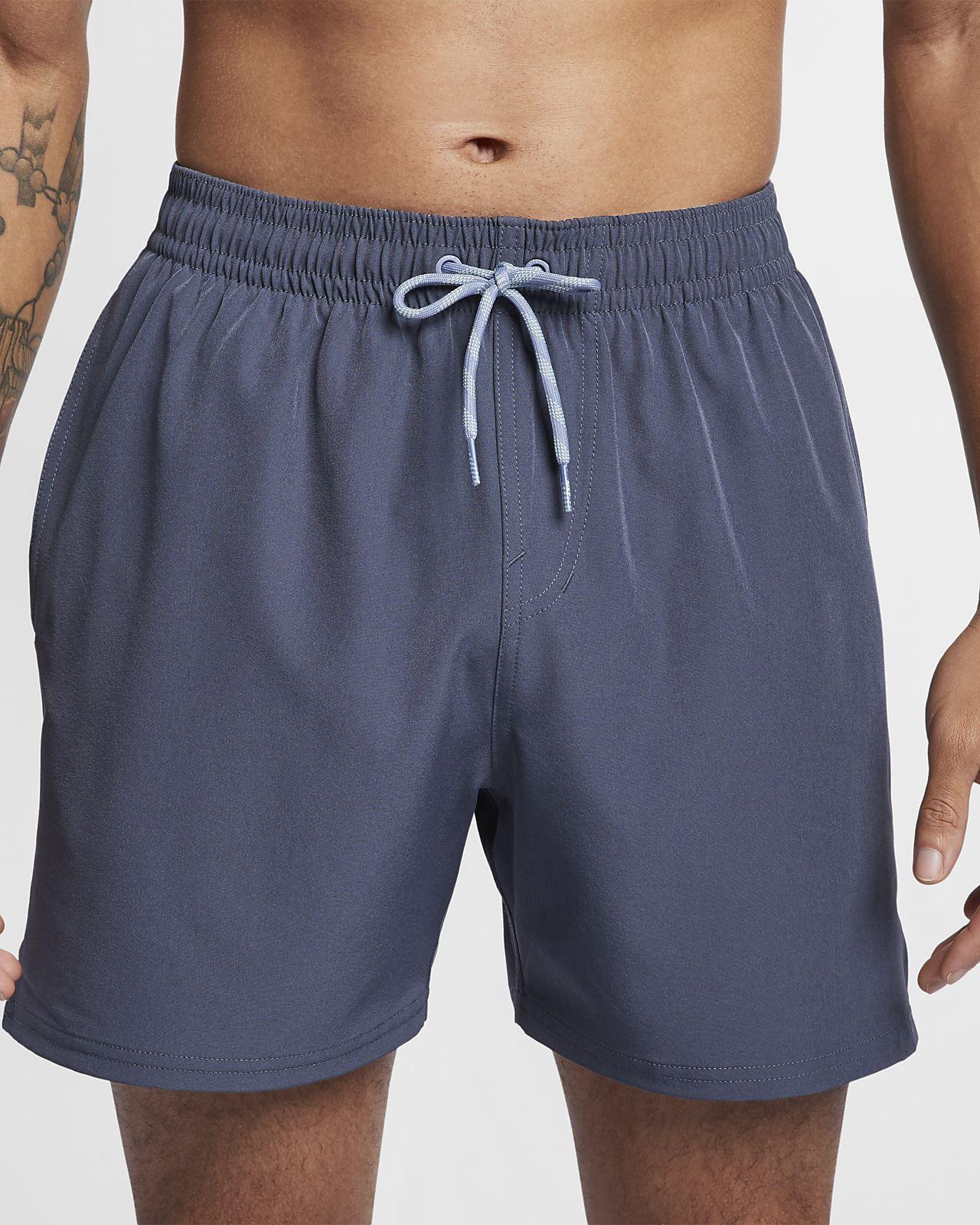 Badshorts Nike Swim Retro Stripe Lap 13 cm för män