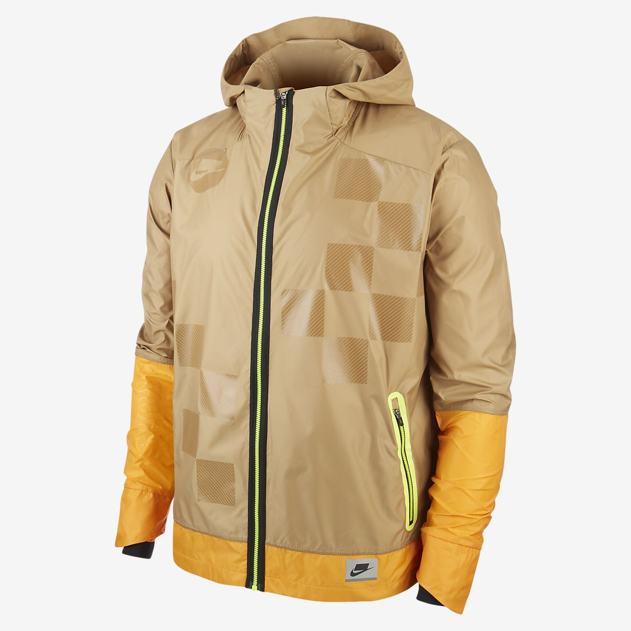 Nike Shield Men's Flash Running Jacket. Nike HR