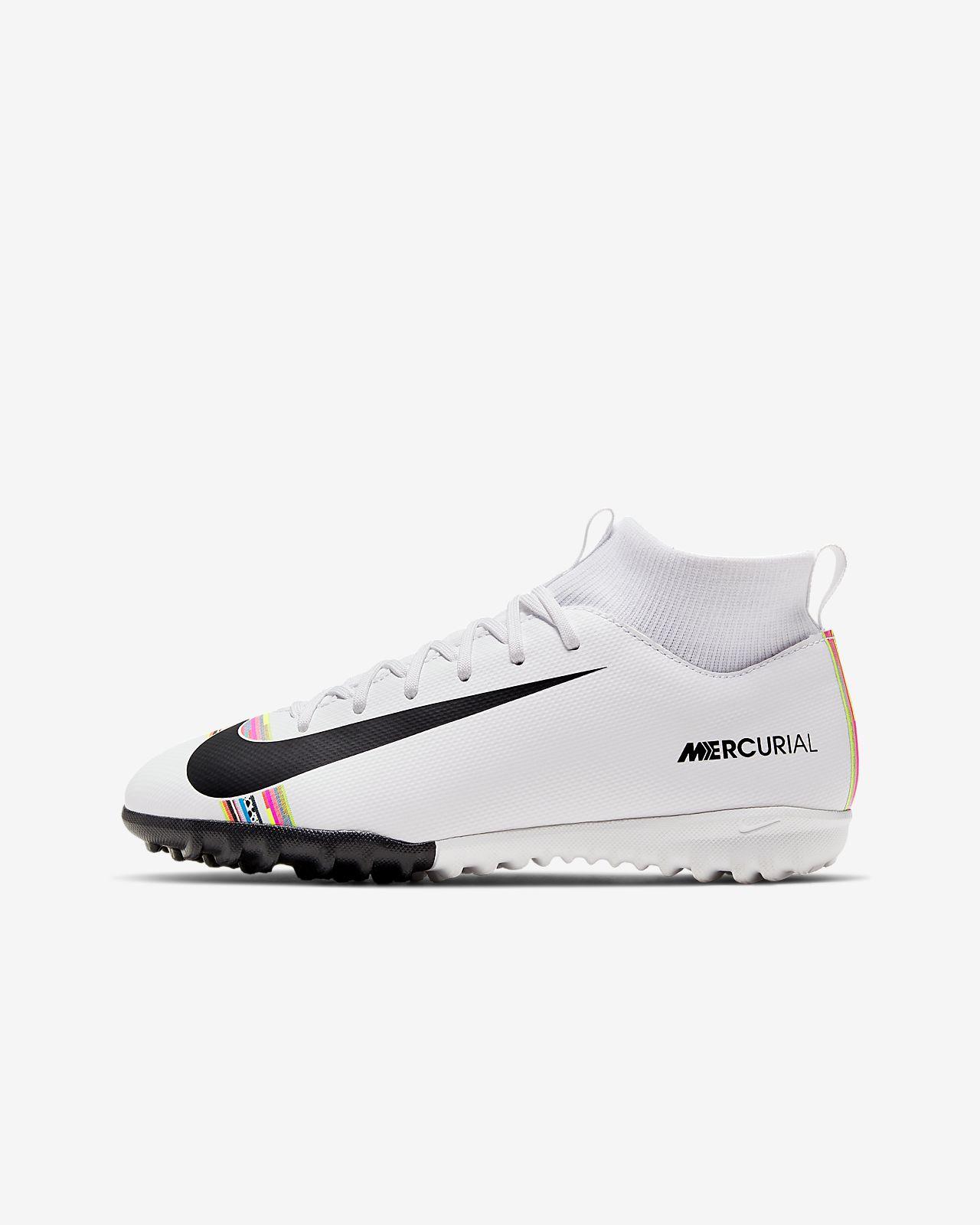 Buty piłkarskie na nawierzchnię typu turf dla małych/dużych dzieci Nike Jr. SuperflyX 6 Academy LVL UP TF