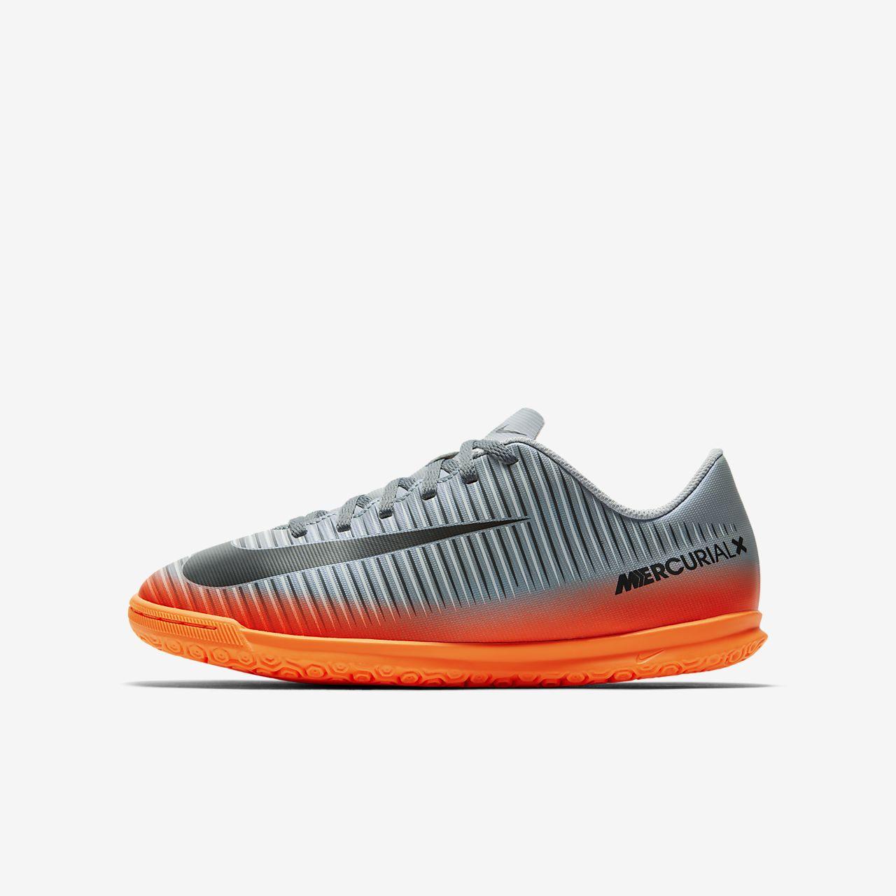 ... Nike Jr. MercurialX Vortex 3 CR7 Little/Big Kids\u0027 Indoor Court Soccer  Shoe