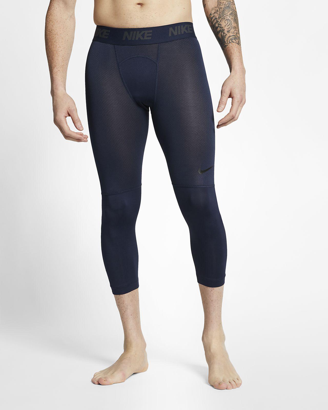 Trekvartslånga tights Nike Pro för män