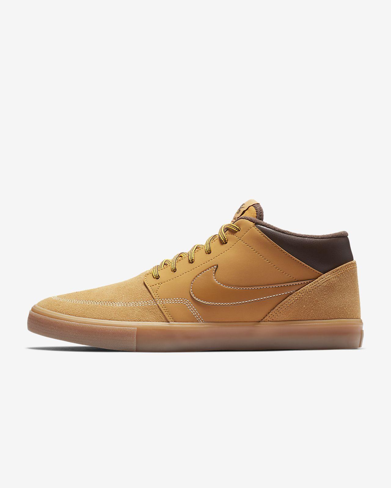 best service b80bd 73154 ... Chaussure de skateboard Nike SB Portmore II Solarsoft Mid Bota pour  Homme