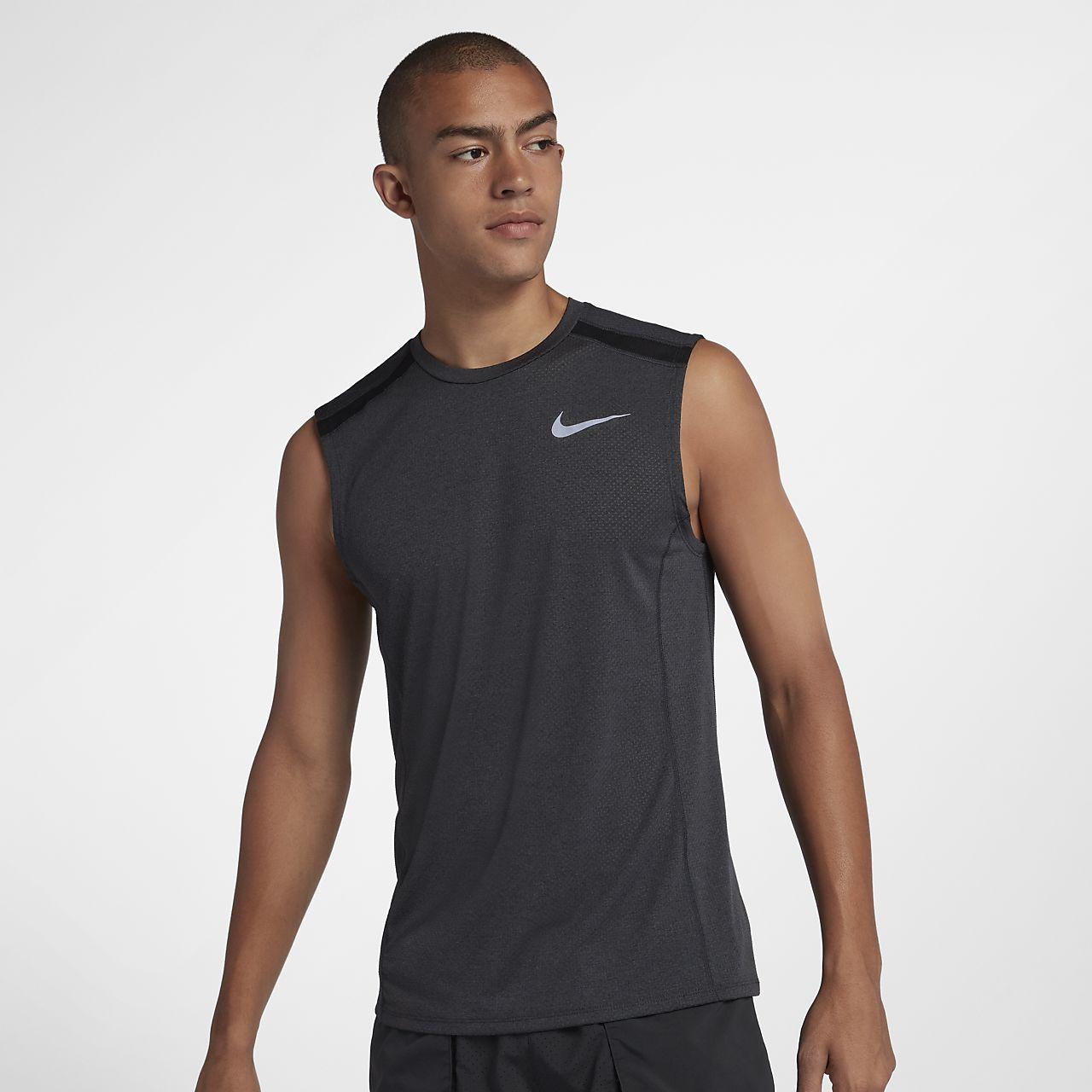00da81895314f Nike Miler Men s Sleeveless Running Top. Nike.com HR