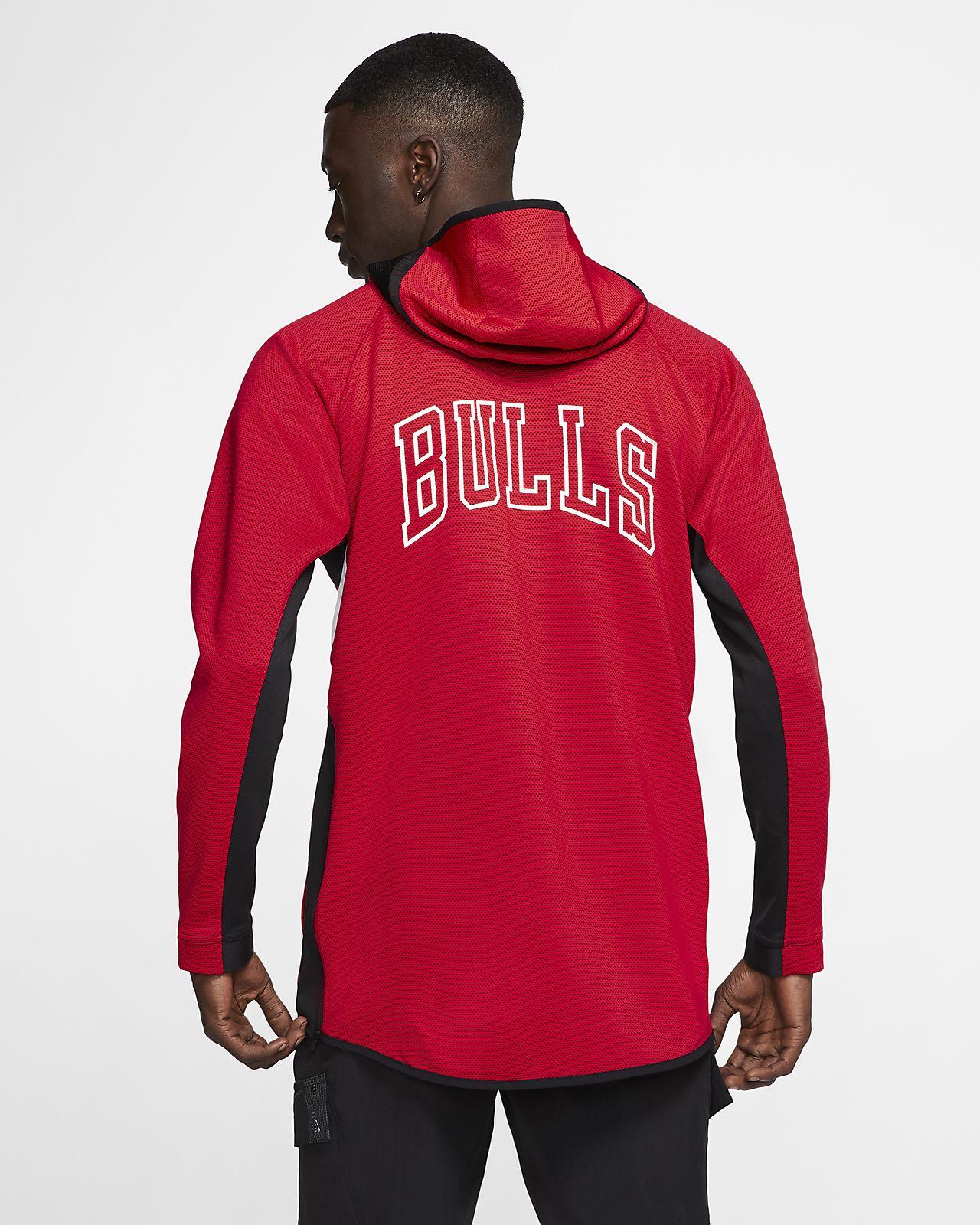 Bulls Nike Therma Flex Showtime NBA hettegenser til herre