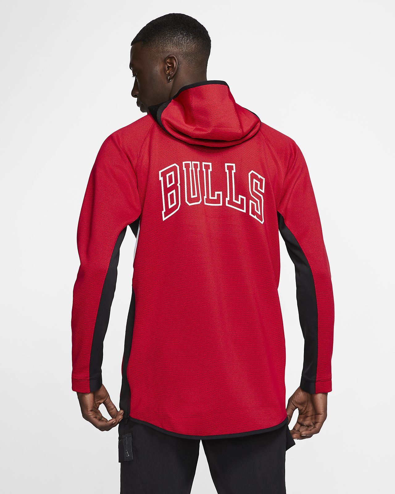 Chicago Bulls Nike Therma Flex Showtime NBA Hoodie für Herren