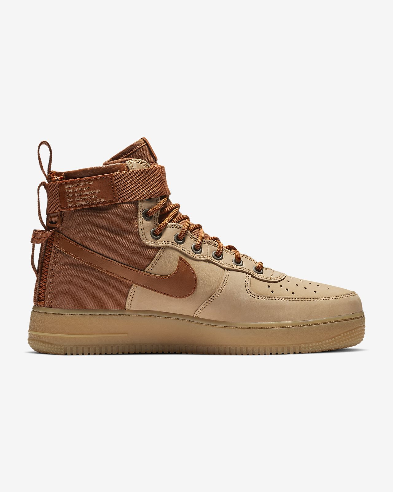 dd9b785ce2daf Nike SF Air Force 1 Mid Premium Men s Shoe. Nike.com ZA