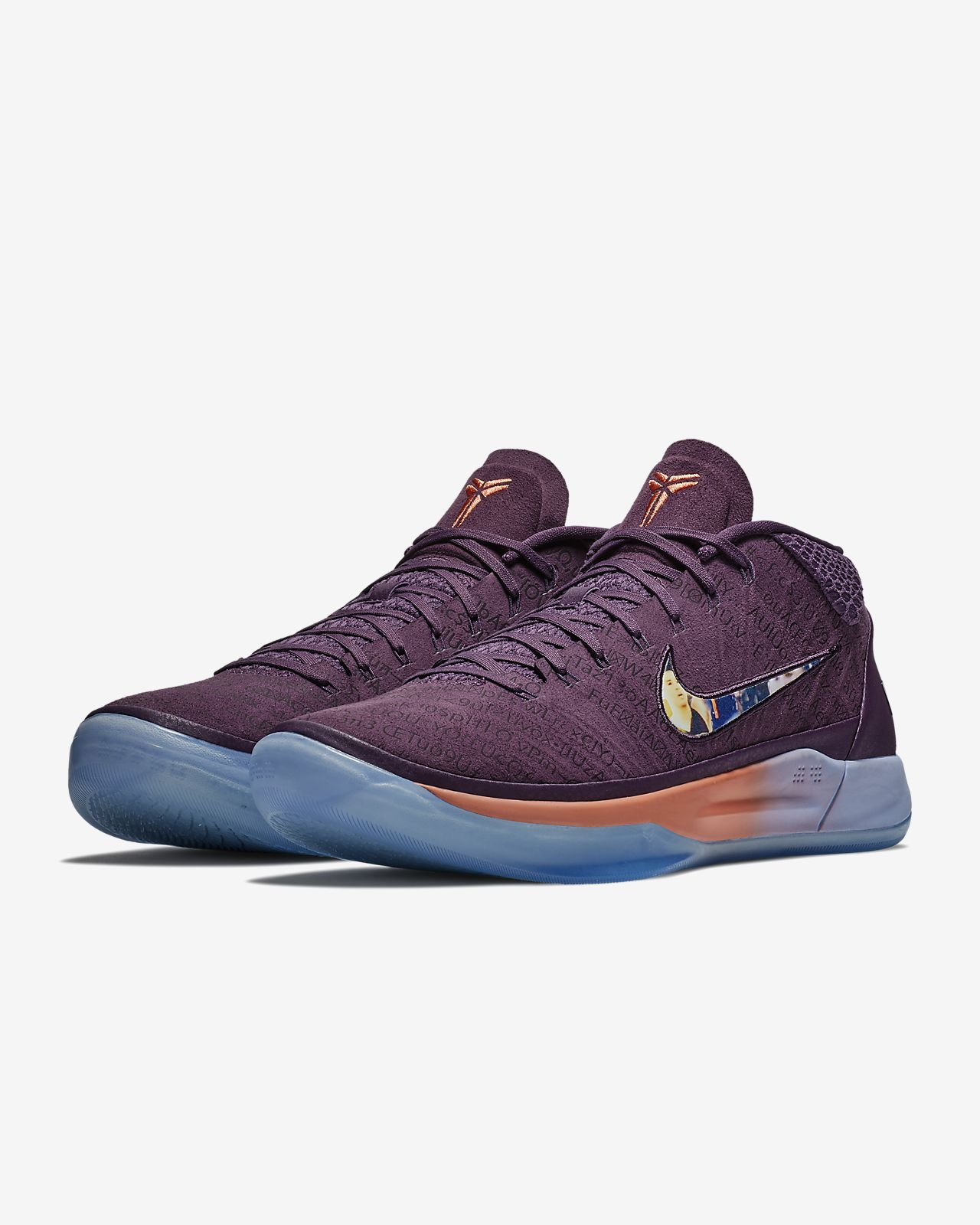 Nike Kode AD Booker PE Purple Suns Mens Sizes