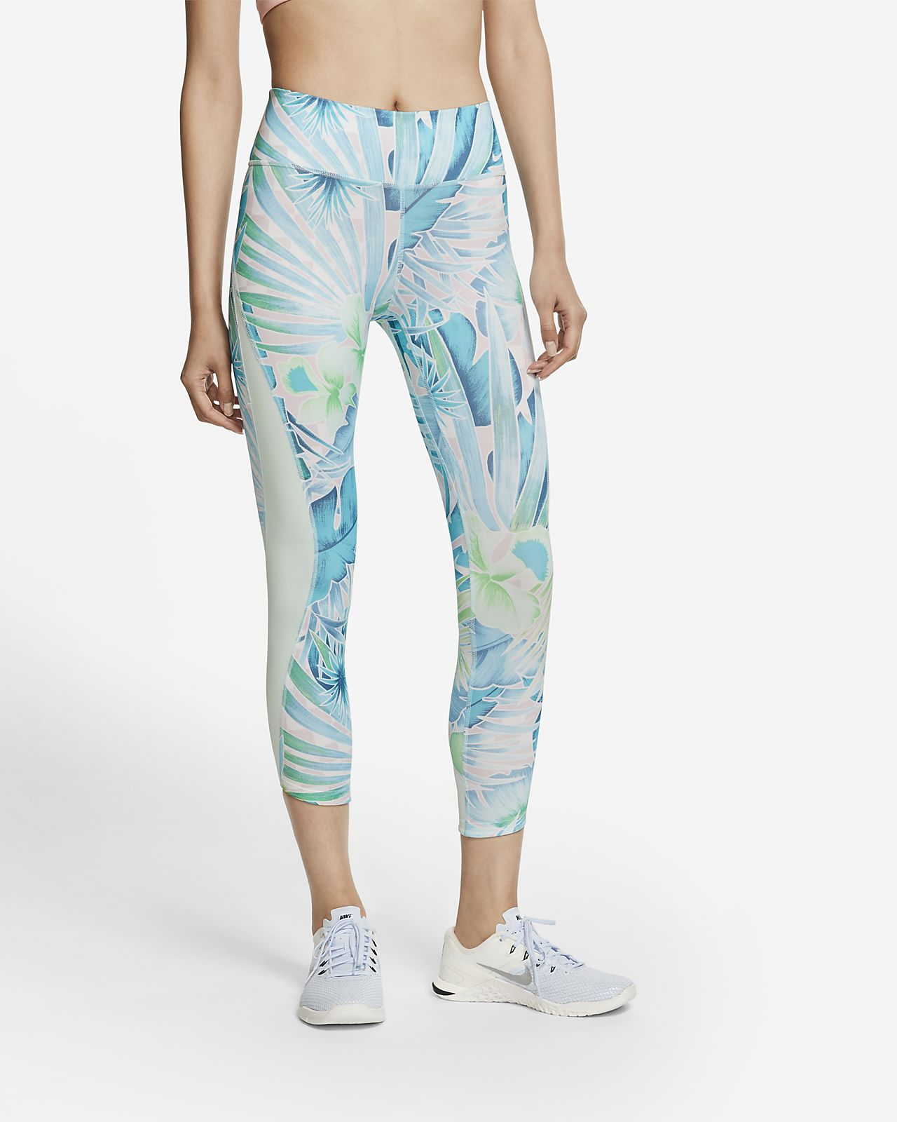 Nike One Women's Printed 7/8 Training Tights