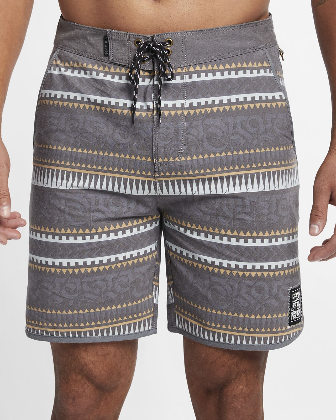 "Hurley Cryptik Mana Beachside Men's 18"" Board Shorts"