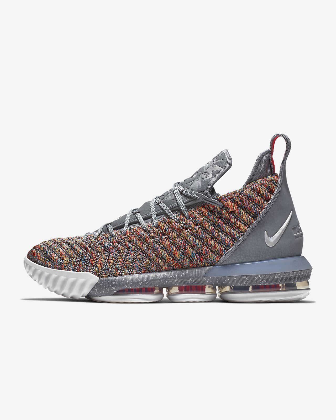 46b166a7310 Calzado de básquetbol LeBron 16. Nike.com PR
