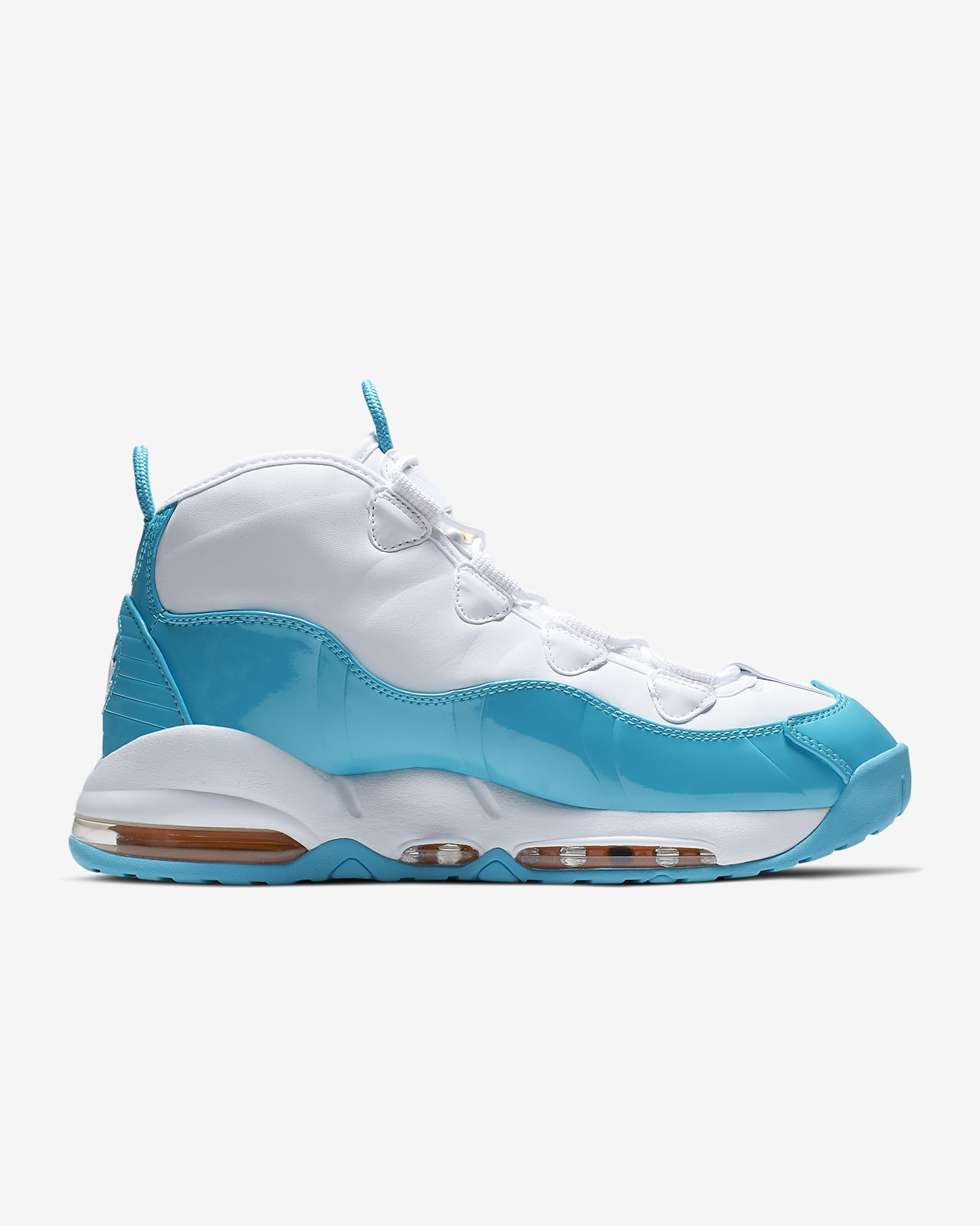 Nike Air Max Uptempo 95 Mens White Shoes UK