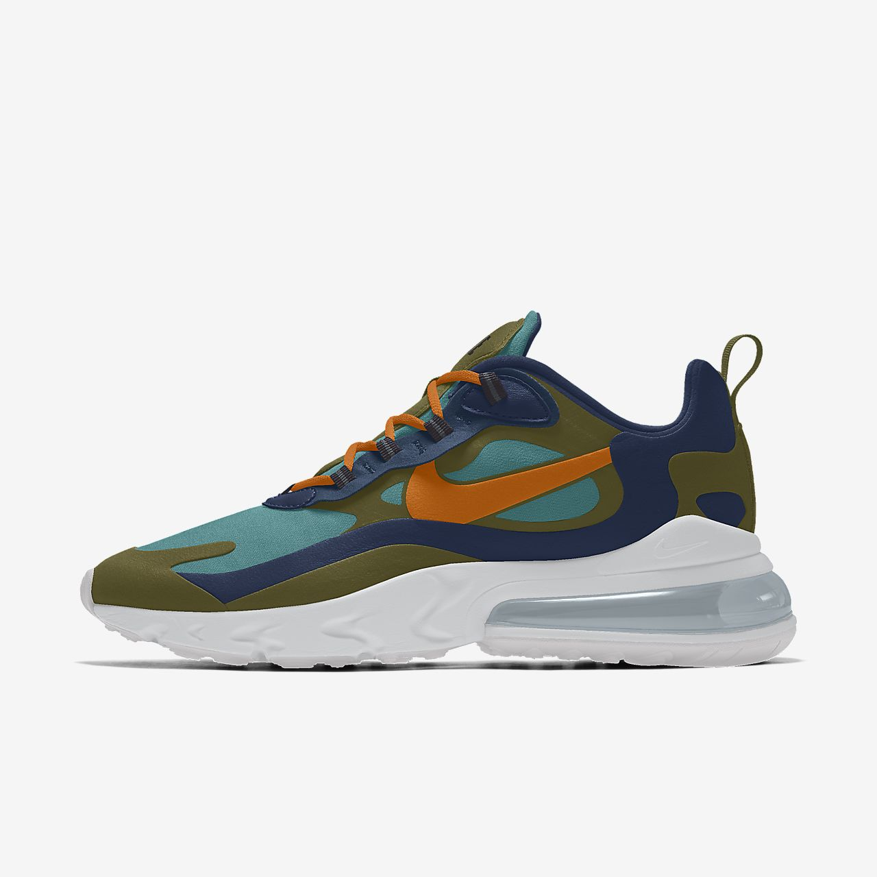 Specialdesignad sko Nike Air Max 270 React By You