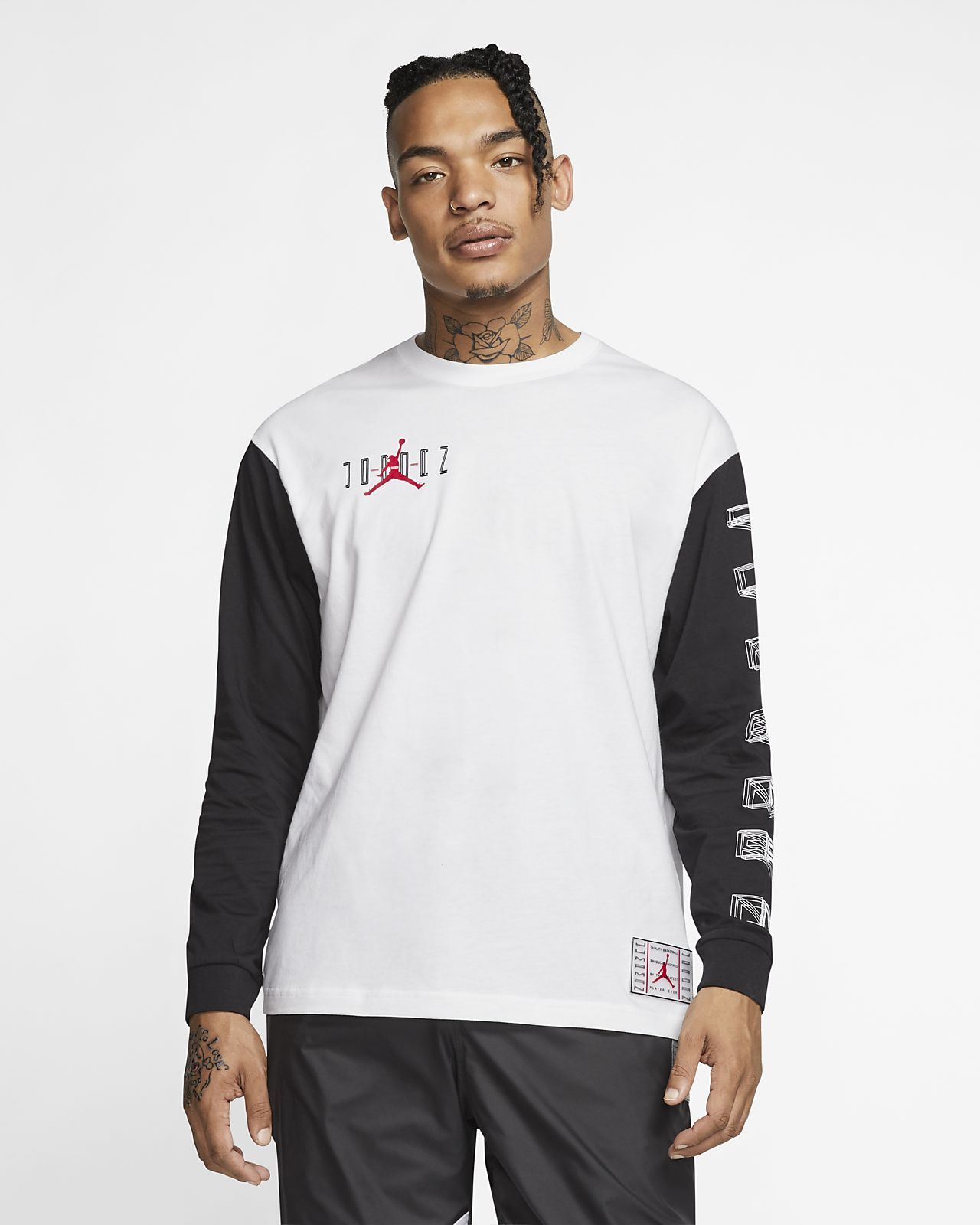 Jordan Legacy AJ11 Men's Long Sleeve T Shirt