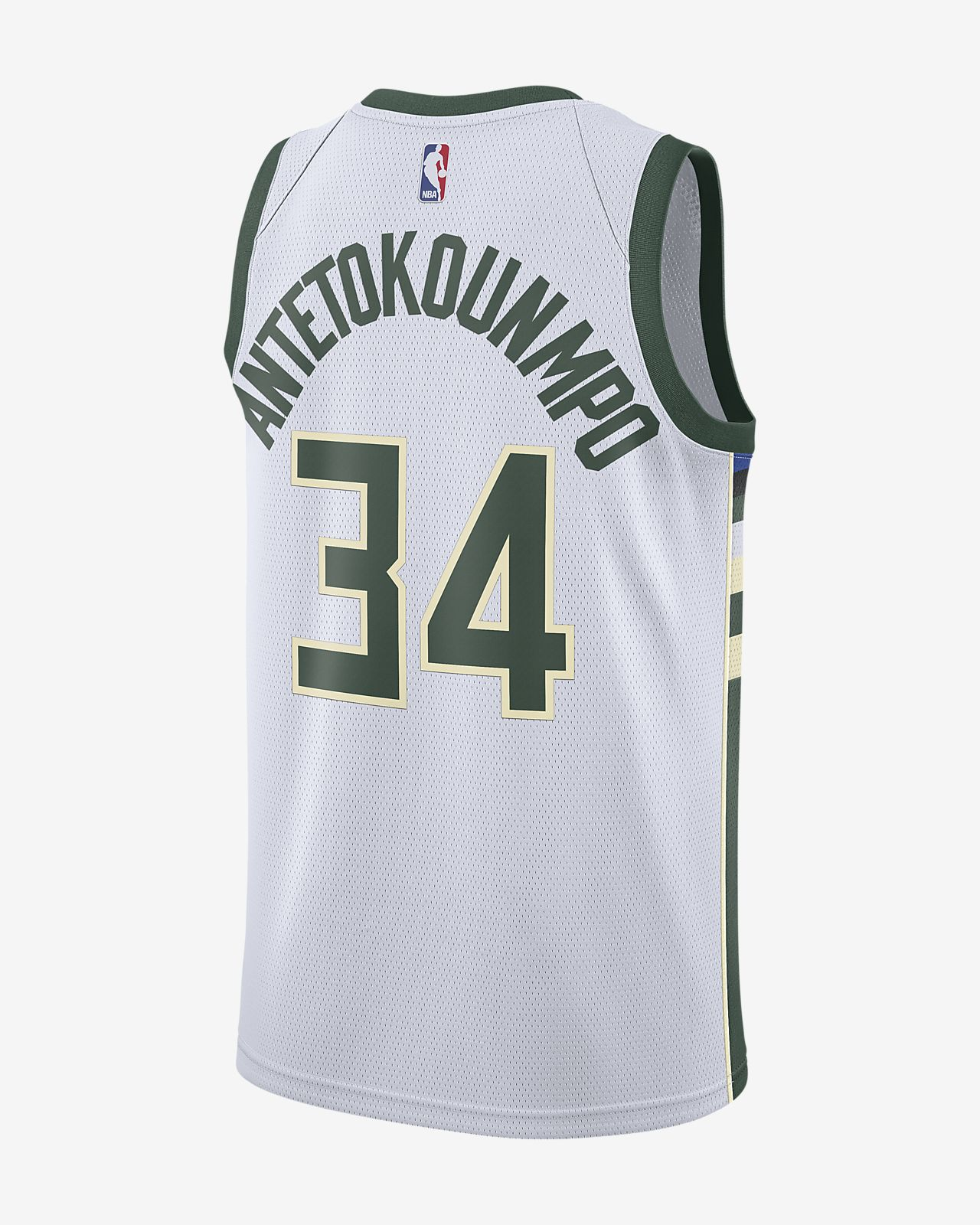 5767c4296844 ... Giannis Antetokounmpo Association Edition Swingman (Milwaukee Bucks) Men s  Nike NBA Connected Jersey
