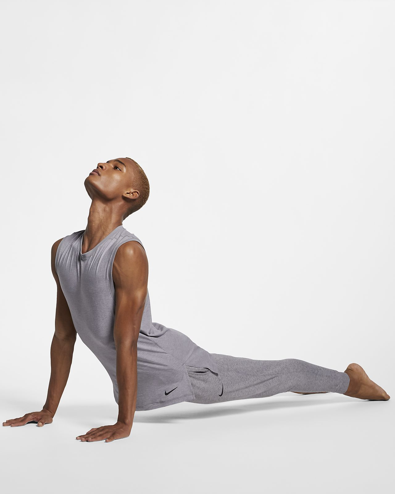 3ef9696dde Nike Dri-FIT Men's Yoga Training Tank. Nike.com IN