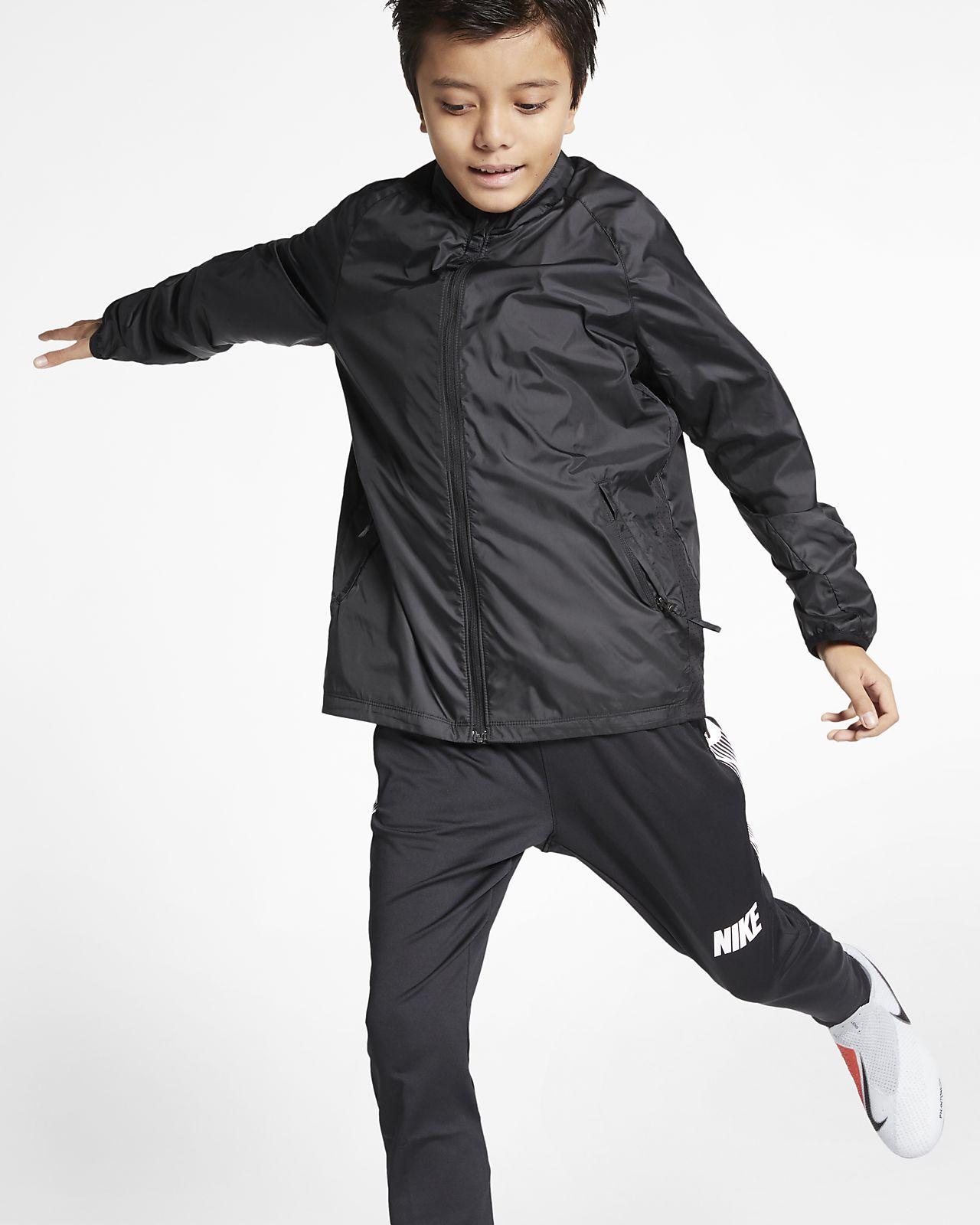 Chamarra de fútbol para niños talla grande Nike Academy