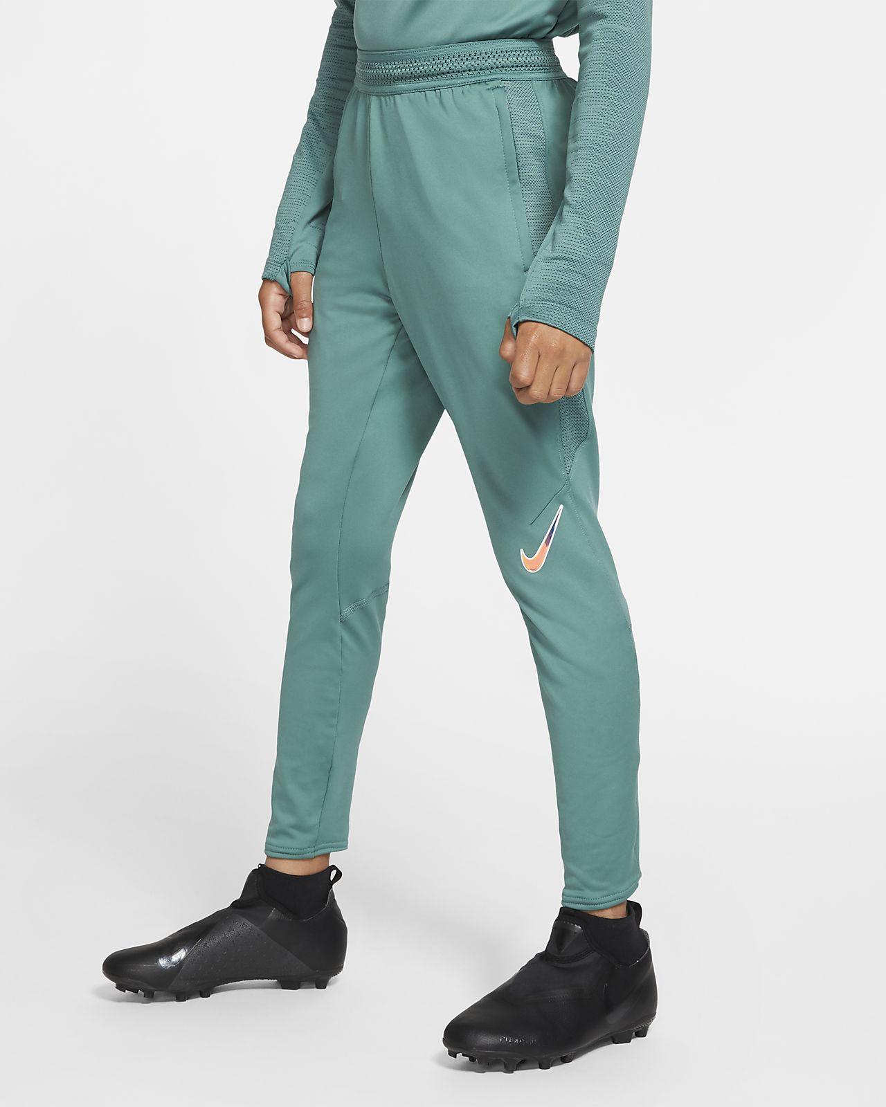 Spodnie piłkarskie dla dużych dzieci (chłopców) Nike Dri-FIT Strike