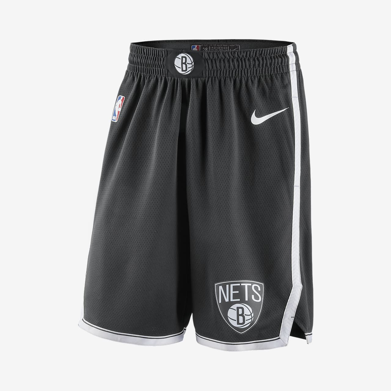 Brooklyn Nets Icon Edition Swingman Men's Nike NBA Shorts
