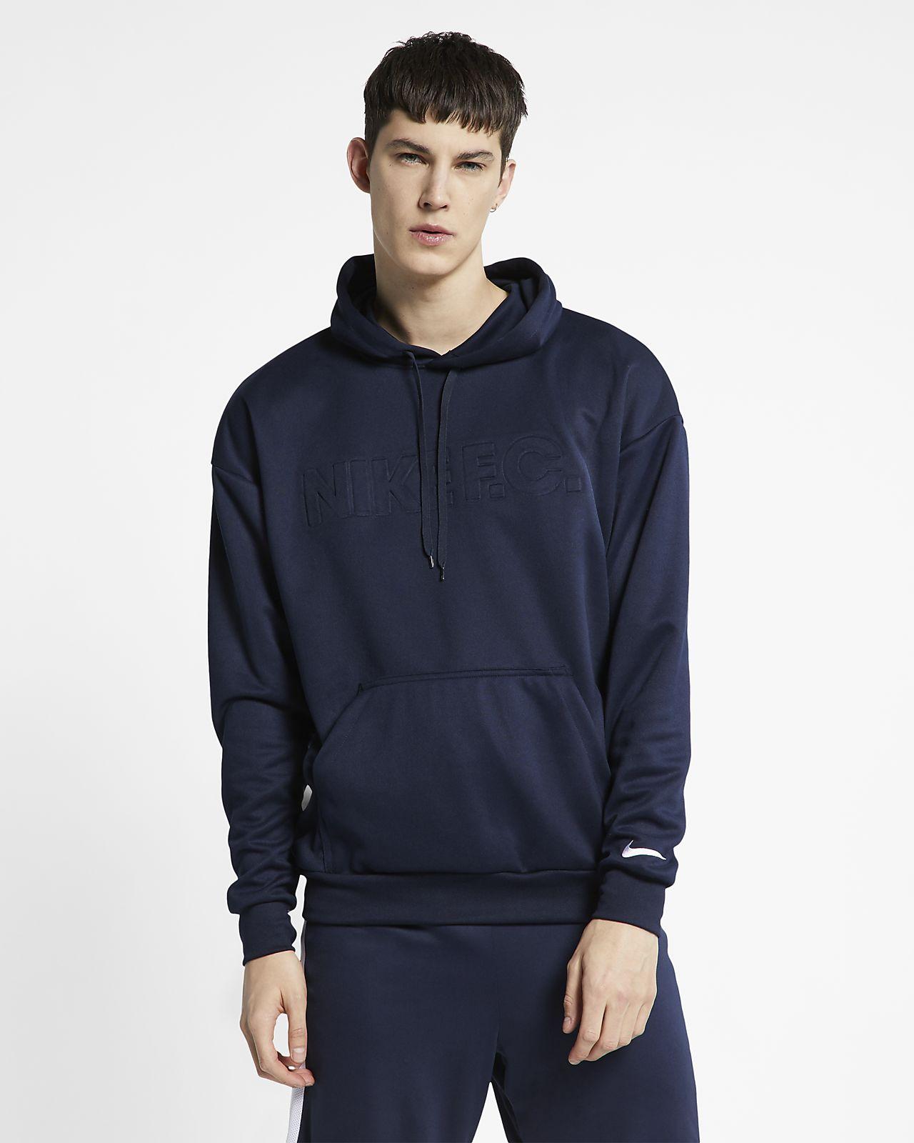 Sudadera con capucha de fútbol Nike F.C.