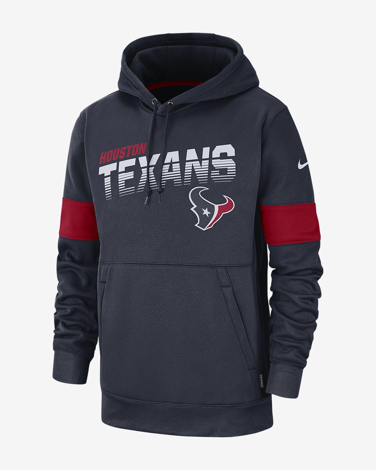 huge discount a0313 079c4 Nike Therma (NFL Texans) Men's Hoodie