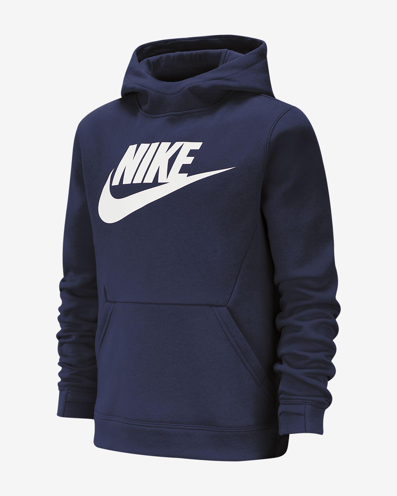 1eb97b33e179 Nike Sportswear Boys  Fleece Pullover Hoodie. Nike.com DK