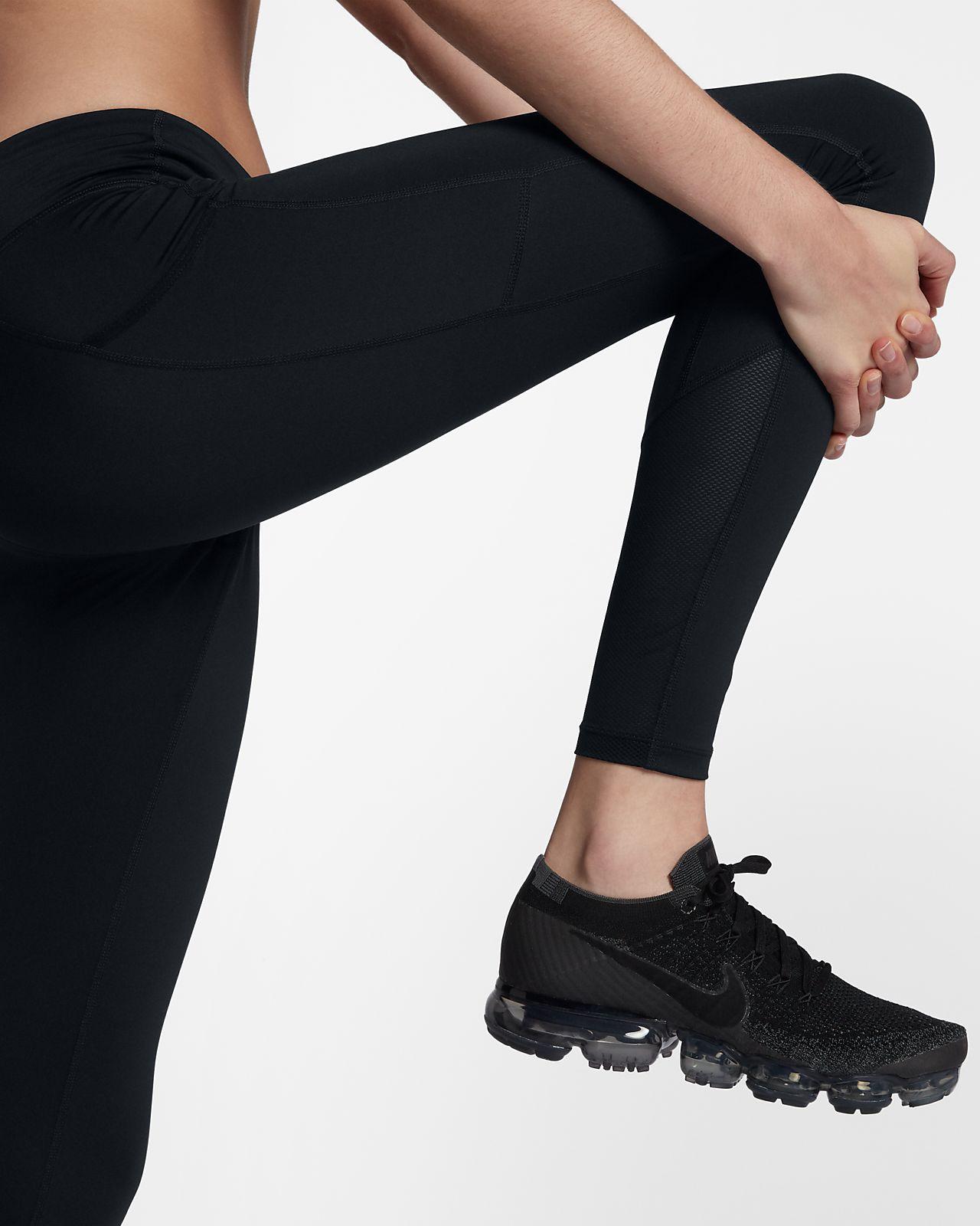 Löpartights med mellanhög midja Nike Racer för kvinnor