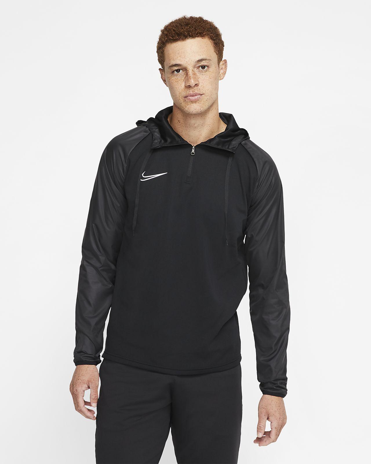 Maglia da calcio per allenamento con cappuccio Nike Dri FIT Repel Academy Uomo