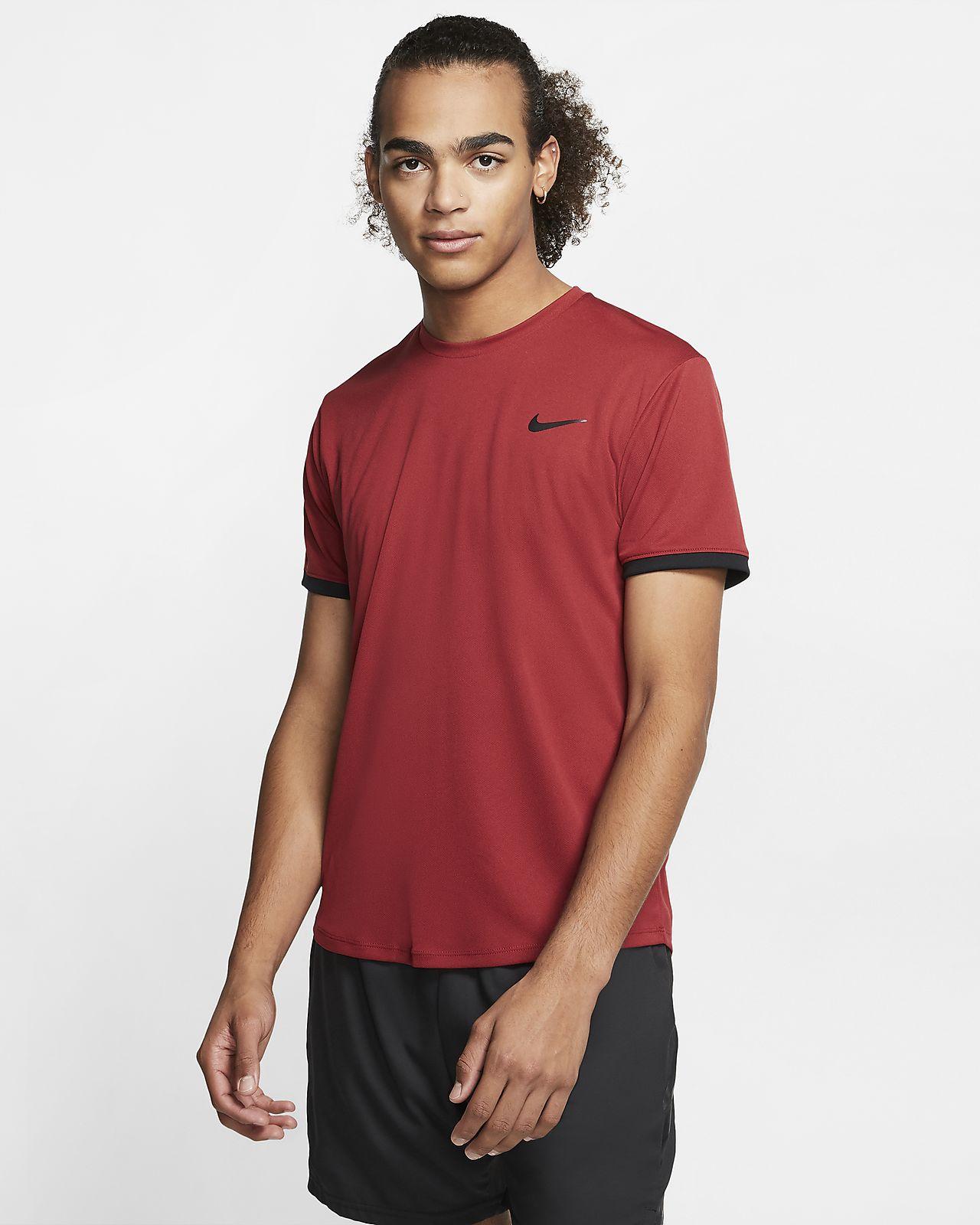 Maglia da tennis a manica corta NikeCourt Dri-FIT - Uomo