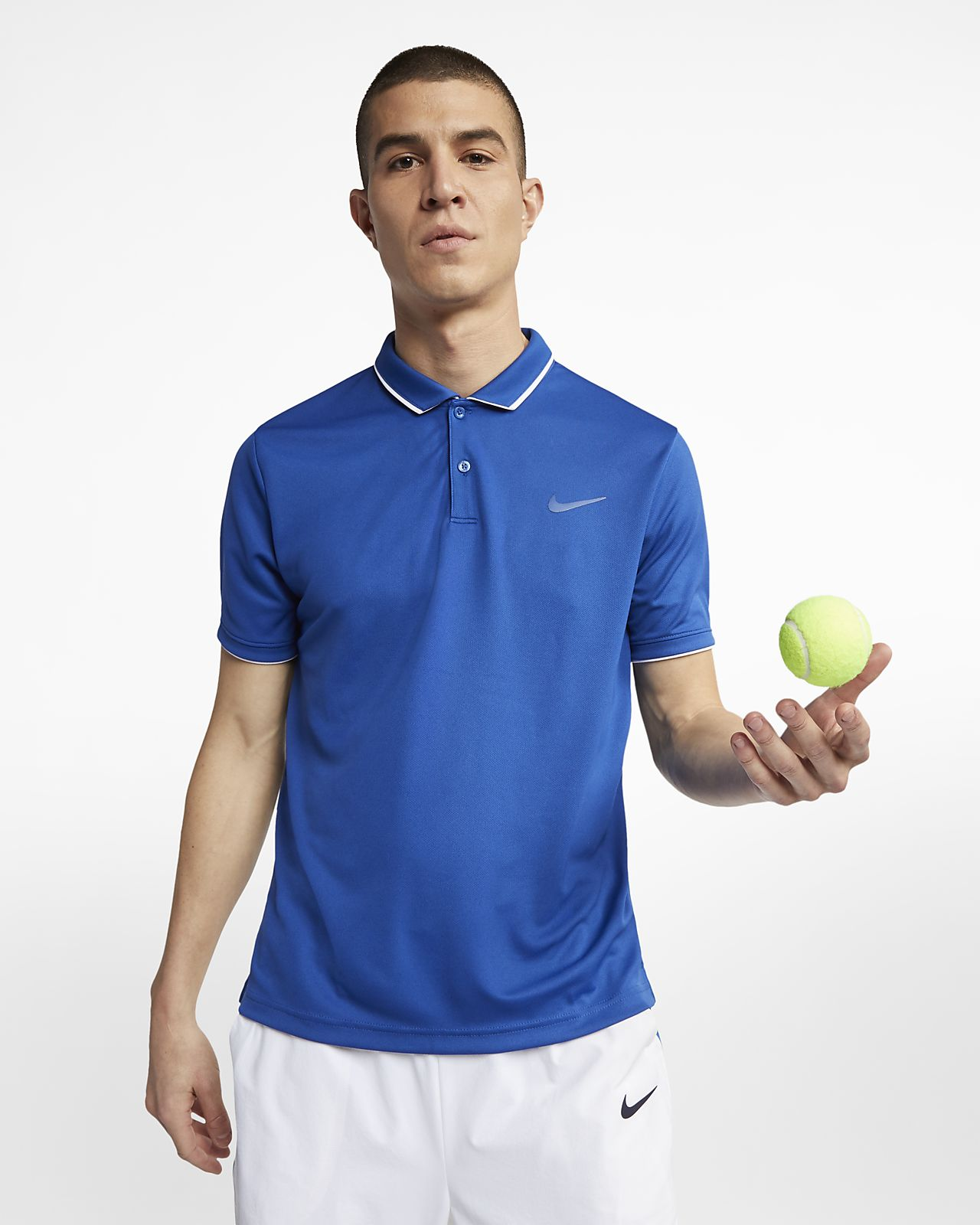 NikeCourt Dri-FIT Team 男款網球 Polo 衫