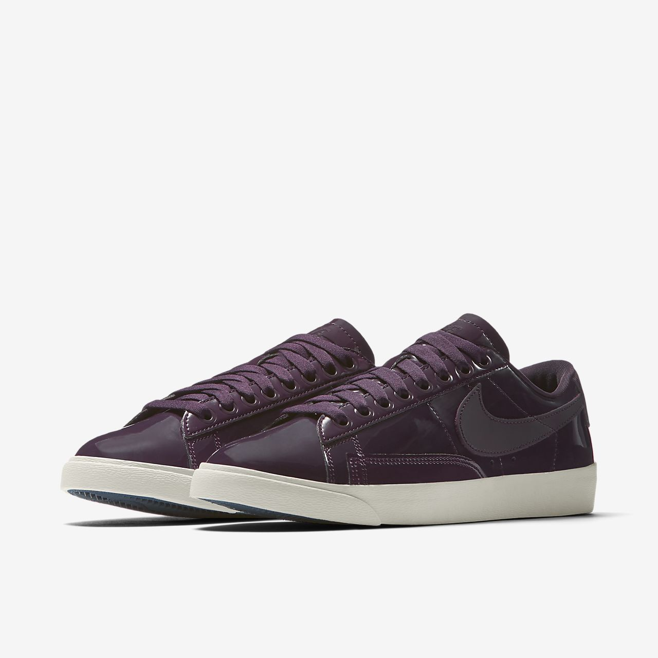 womens nike blazer low leather summit