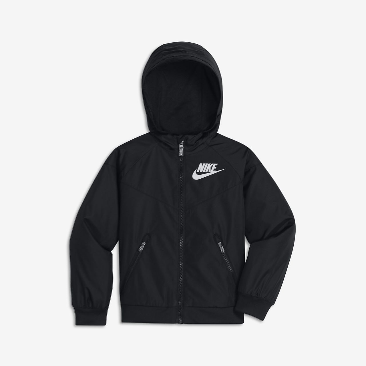 Nike windrunner jacket in printed black and white