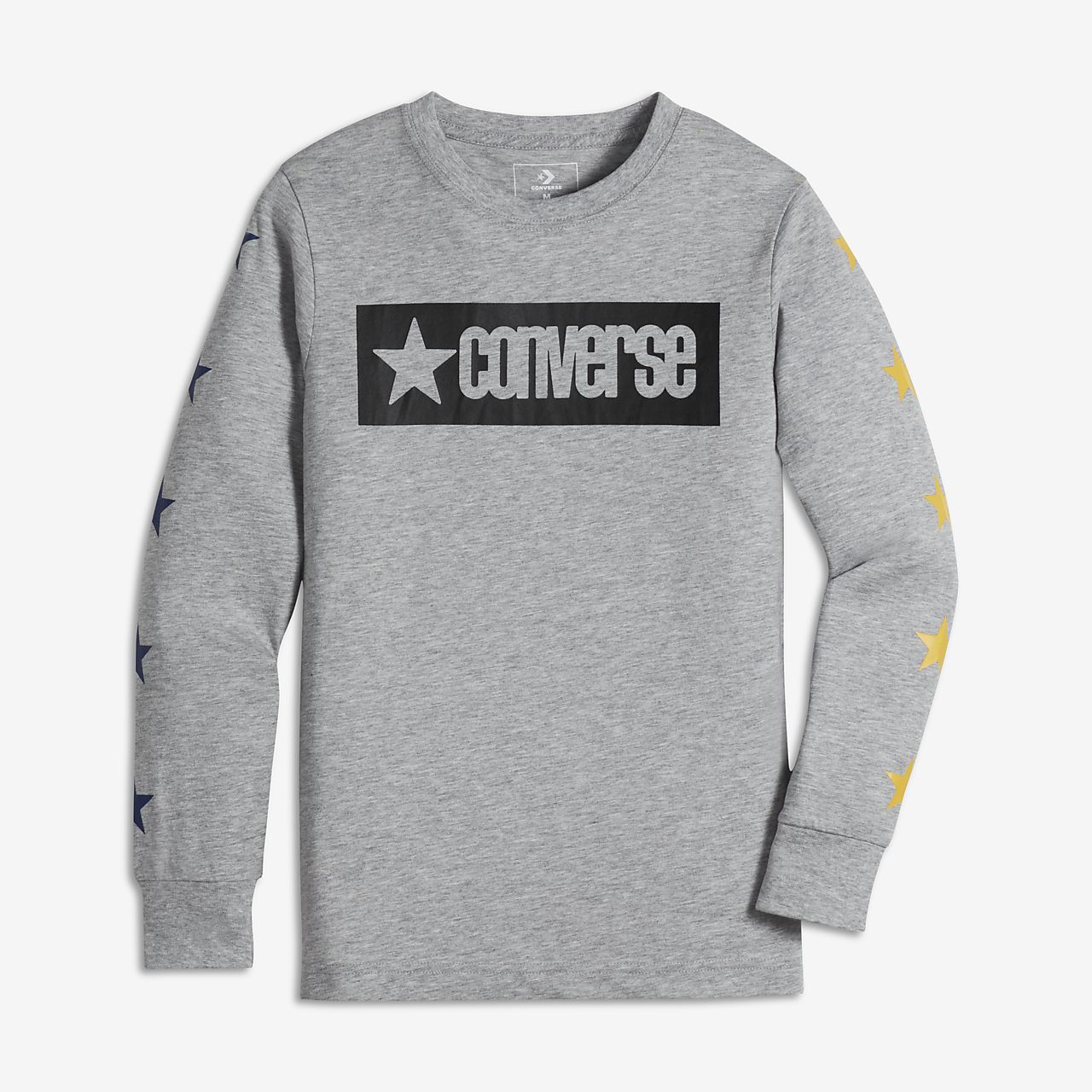 Converse Vintage Star Big Kids' (Boys') Long Sleeve Graphic T-Shirt
