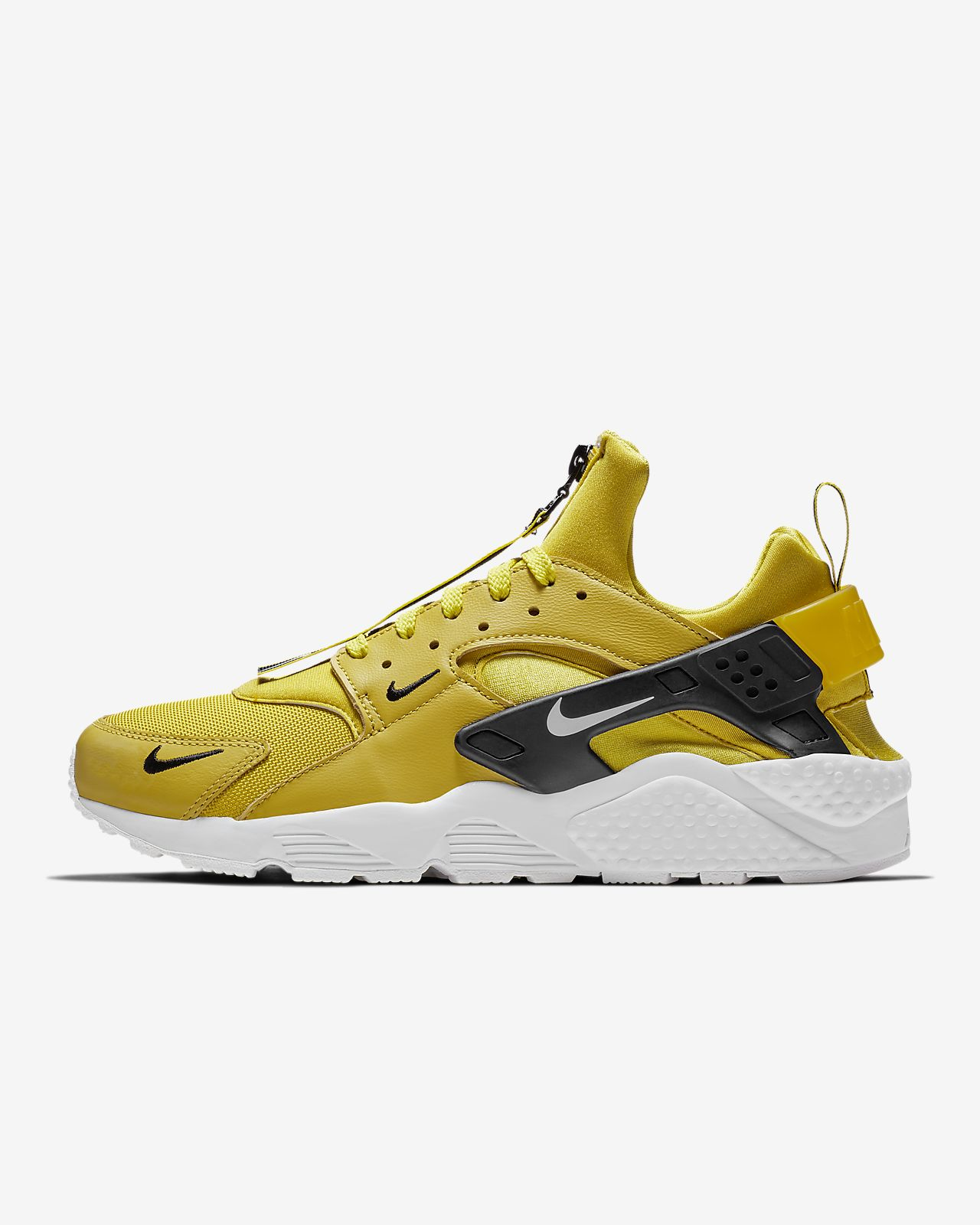 brand new 63e23 5cd89 ... Nike Air Huarache Run Premium Zip Men s Shoe