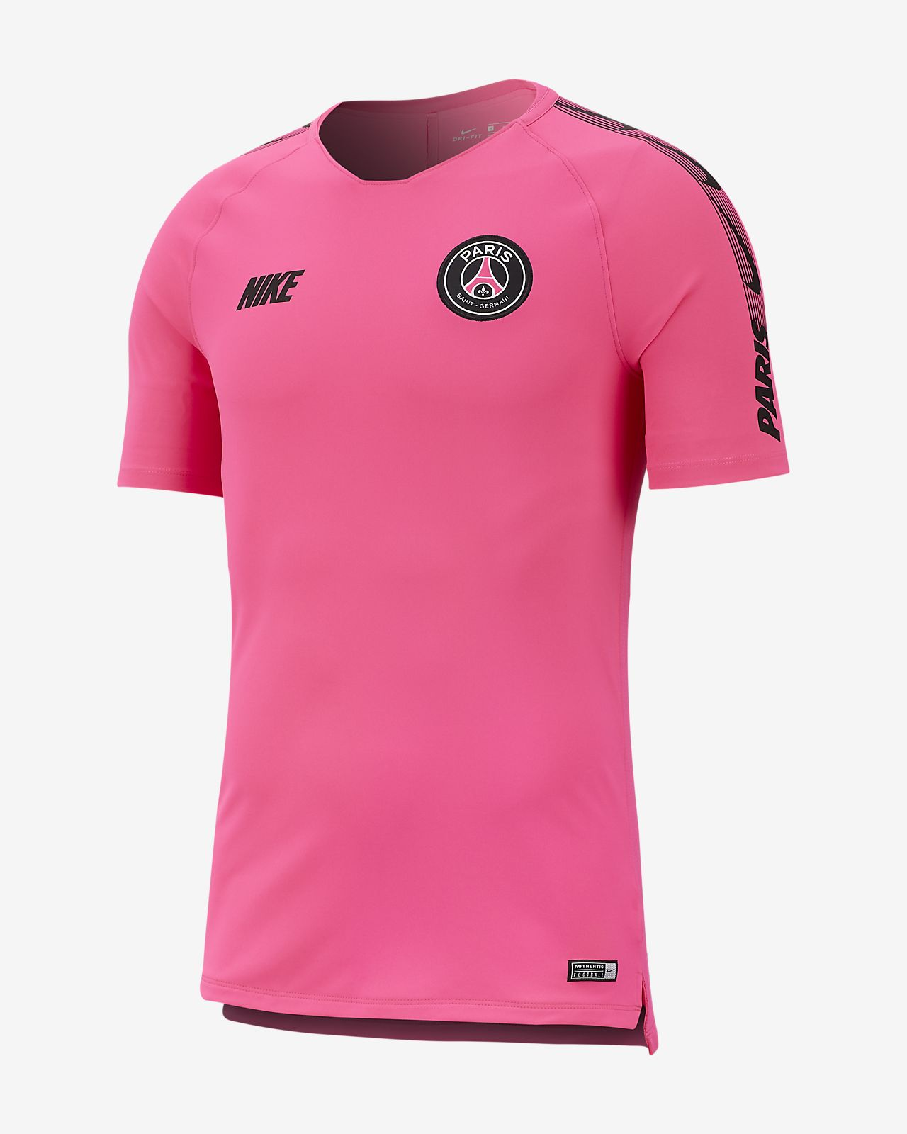 Haut de football Paris Saint-Germain Breathe Squad pour Homme