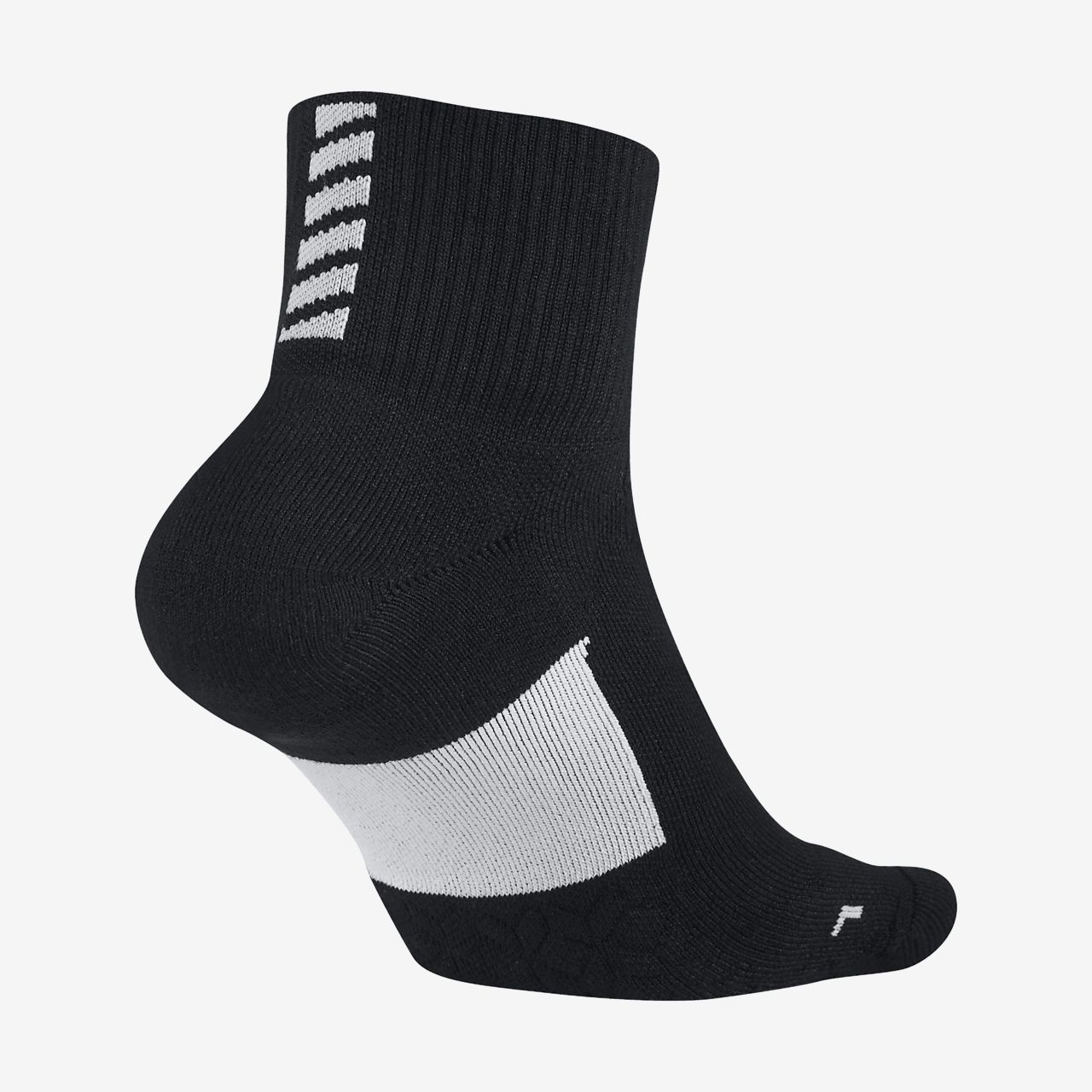 Nike Elite Cushion Quarter - løbestrømper