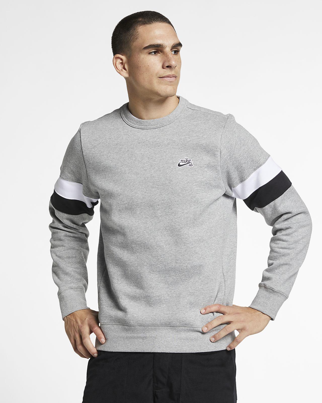 Nike SB Icon Fleece-Skateboardoberteil für Herren