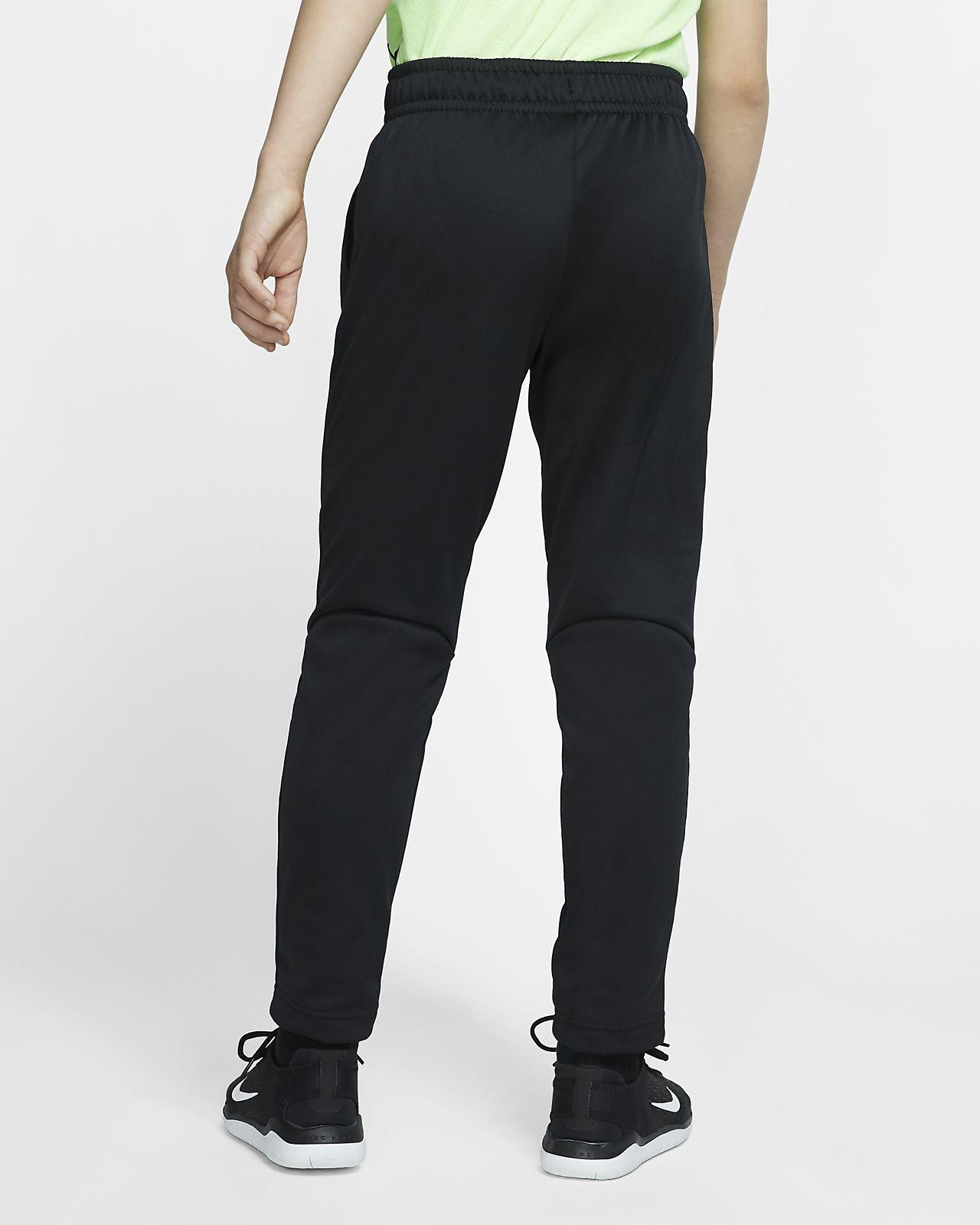 Nike Therma Big Kids' (Boys') Open Hem Training Pants