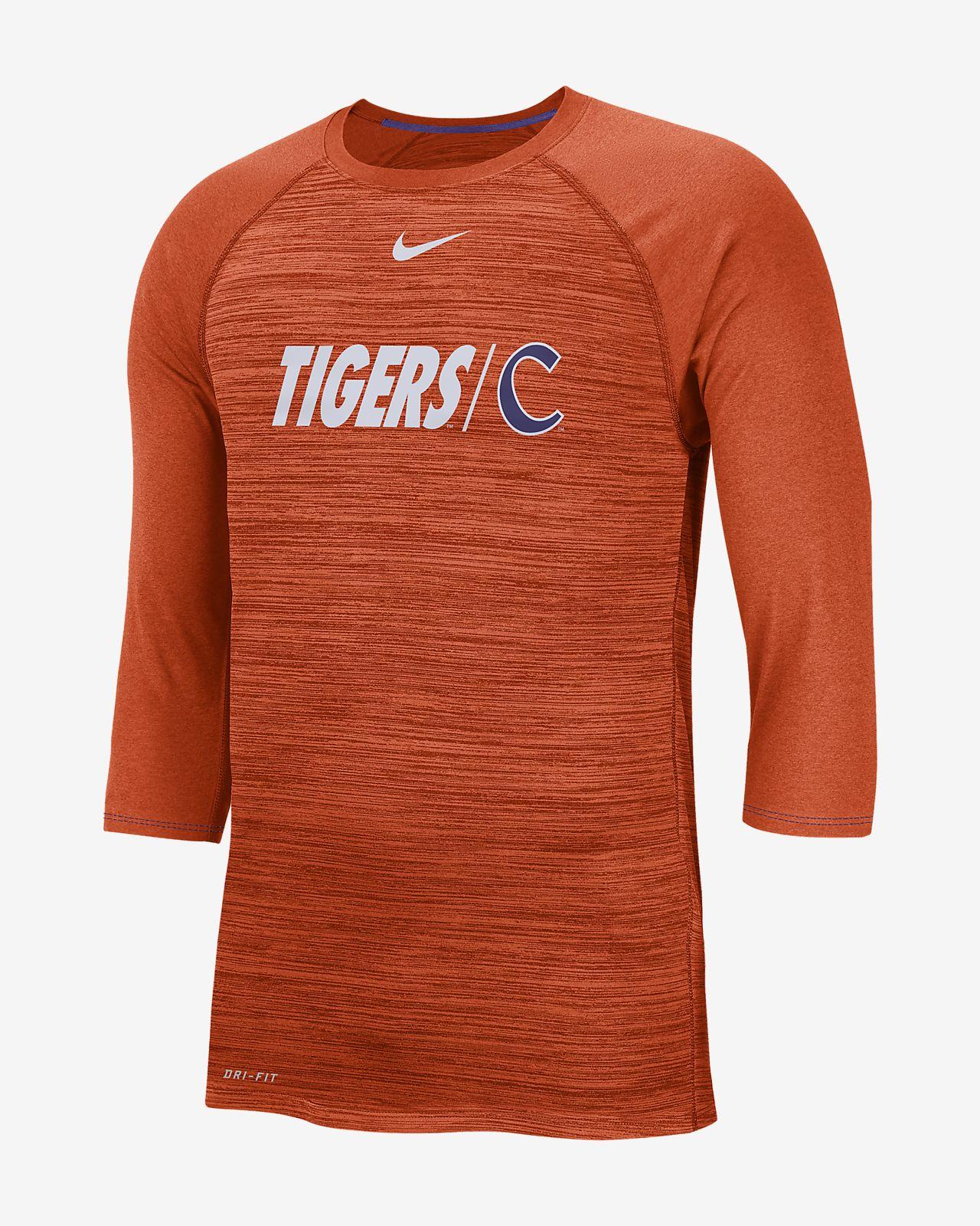 7b7bca39618fa Nike College Dri-FIT Legend (Clemson) Men s 3 4-Sleeve Top. Nike.com