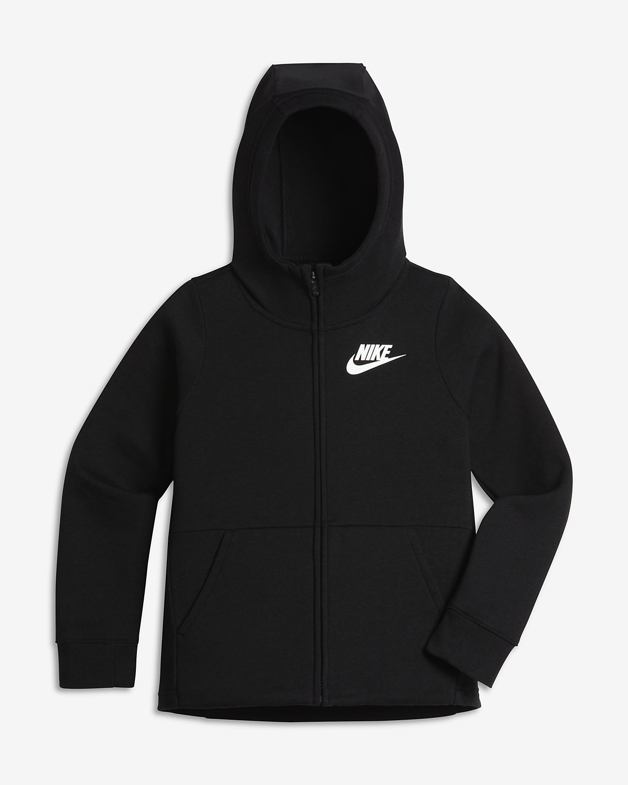 5e9bdd486667 Nike Sportswear Older Kids  (Girls ) Full-Zip Hoodie. Nike.com GB