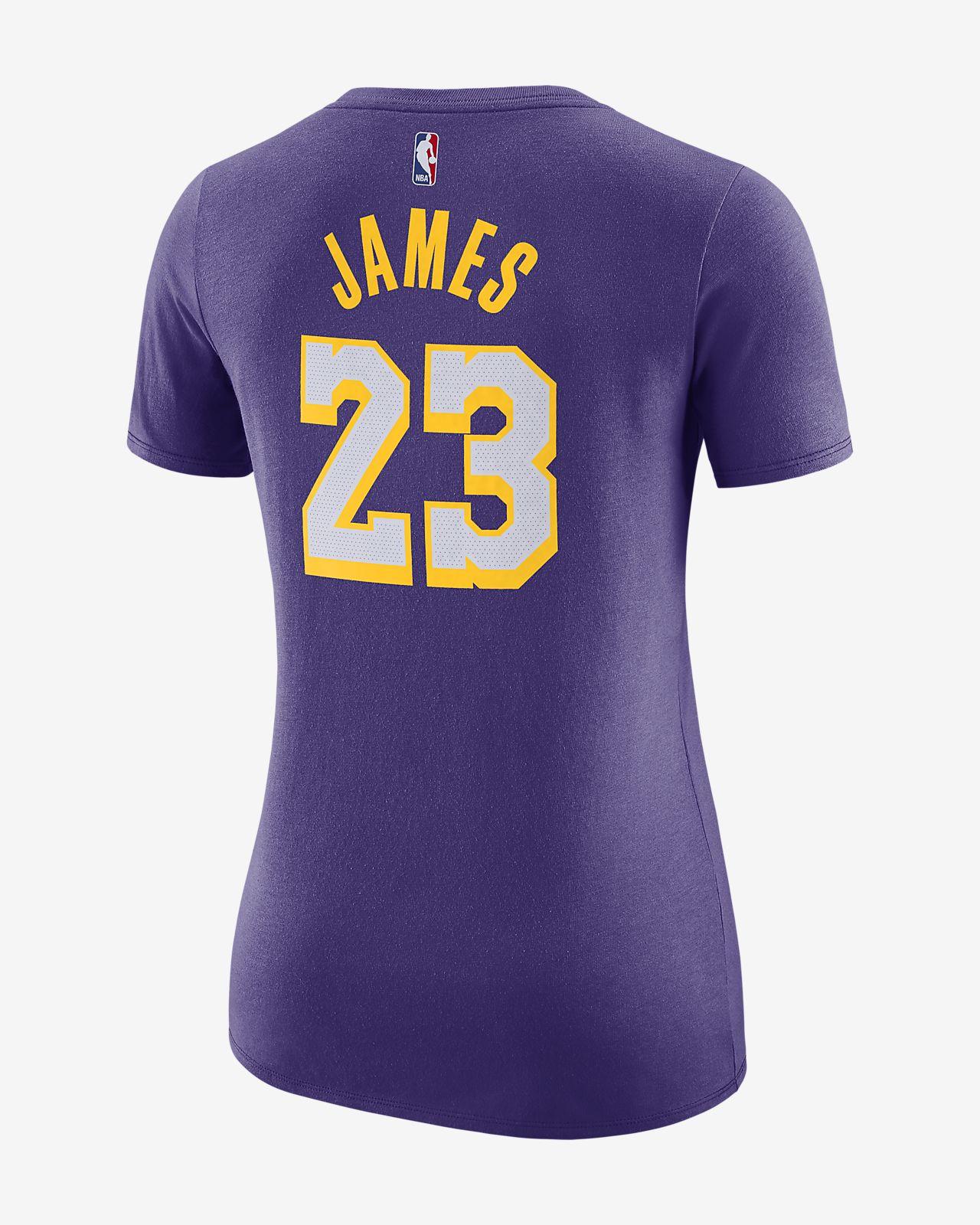 Los Angeles Lakers Nike Dri-FIT Women s NBA T-Shirt. Nike.com SG 9ff6a8cdd9