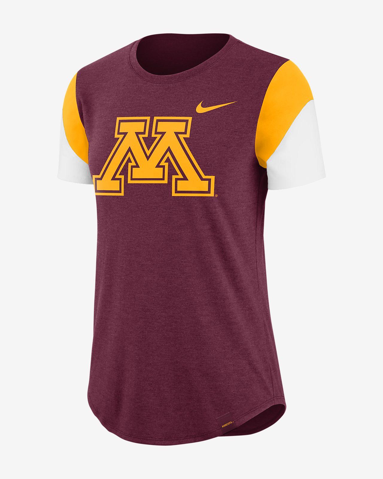 Nike College Fan (Minnesota) Women s Tri-Blend T-Shirt. Nike.com 6a8b0986a