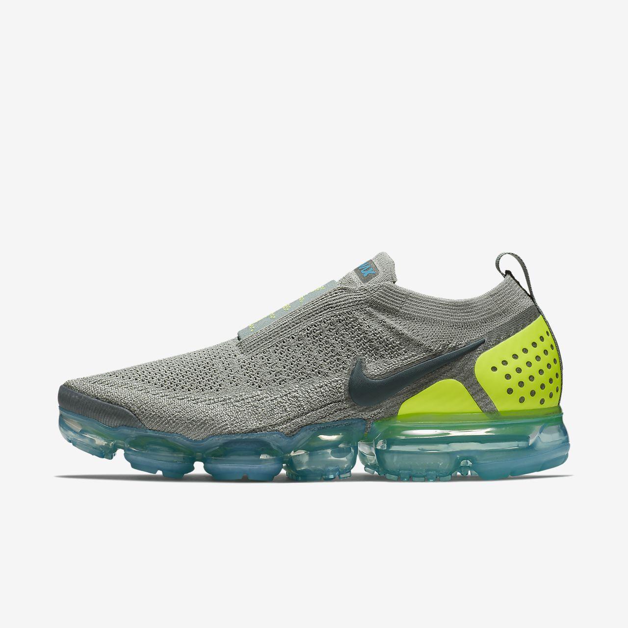 Vapormax Flyknit Chaussures De Sport D'utilité - Nike Gris Vert iZF51yl